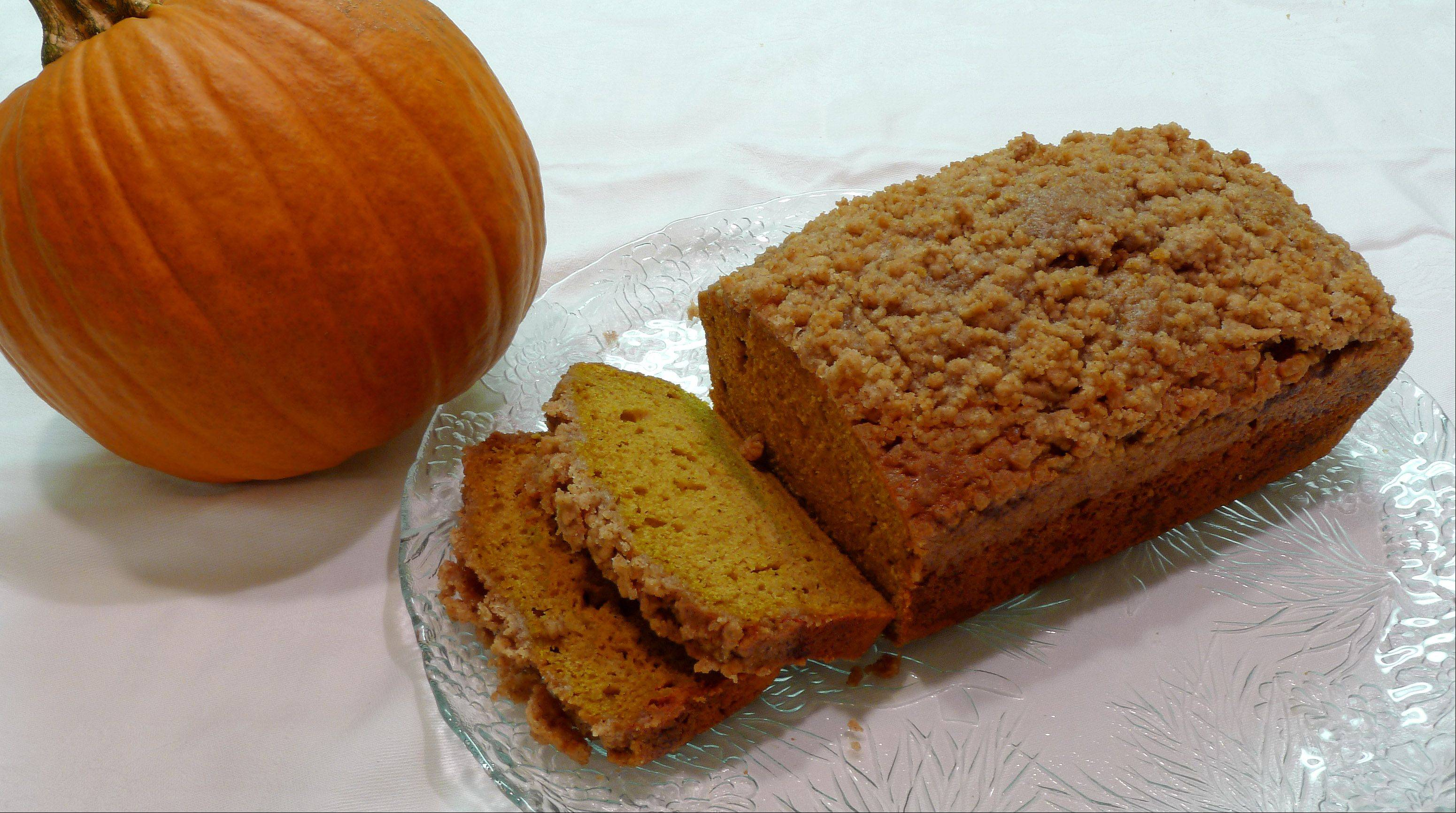 Pumpkin ale makes quick bread more savory