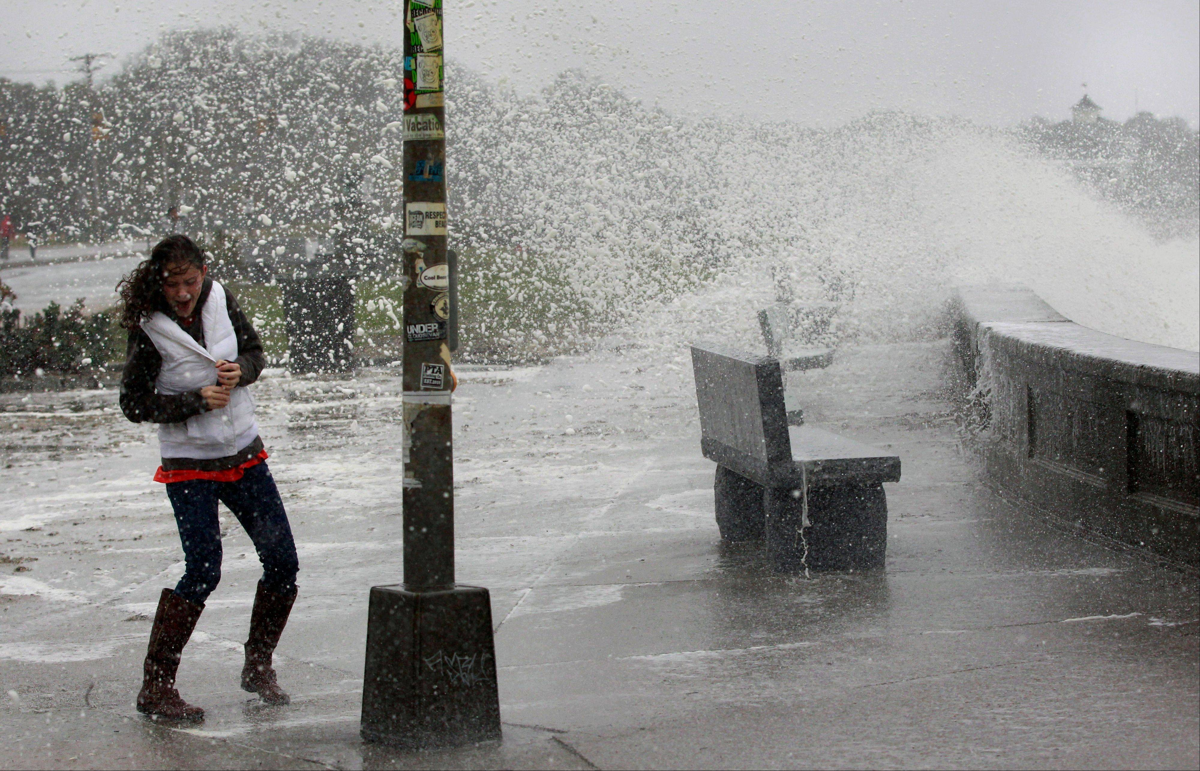 Images: Sandy Pounds the East Coast