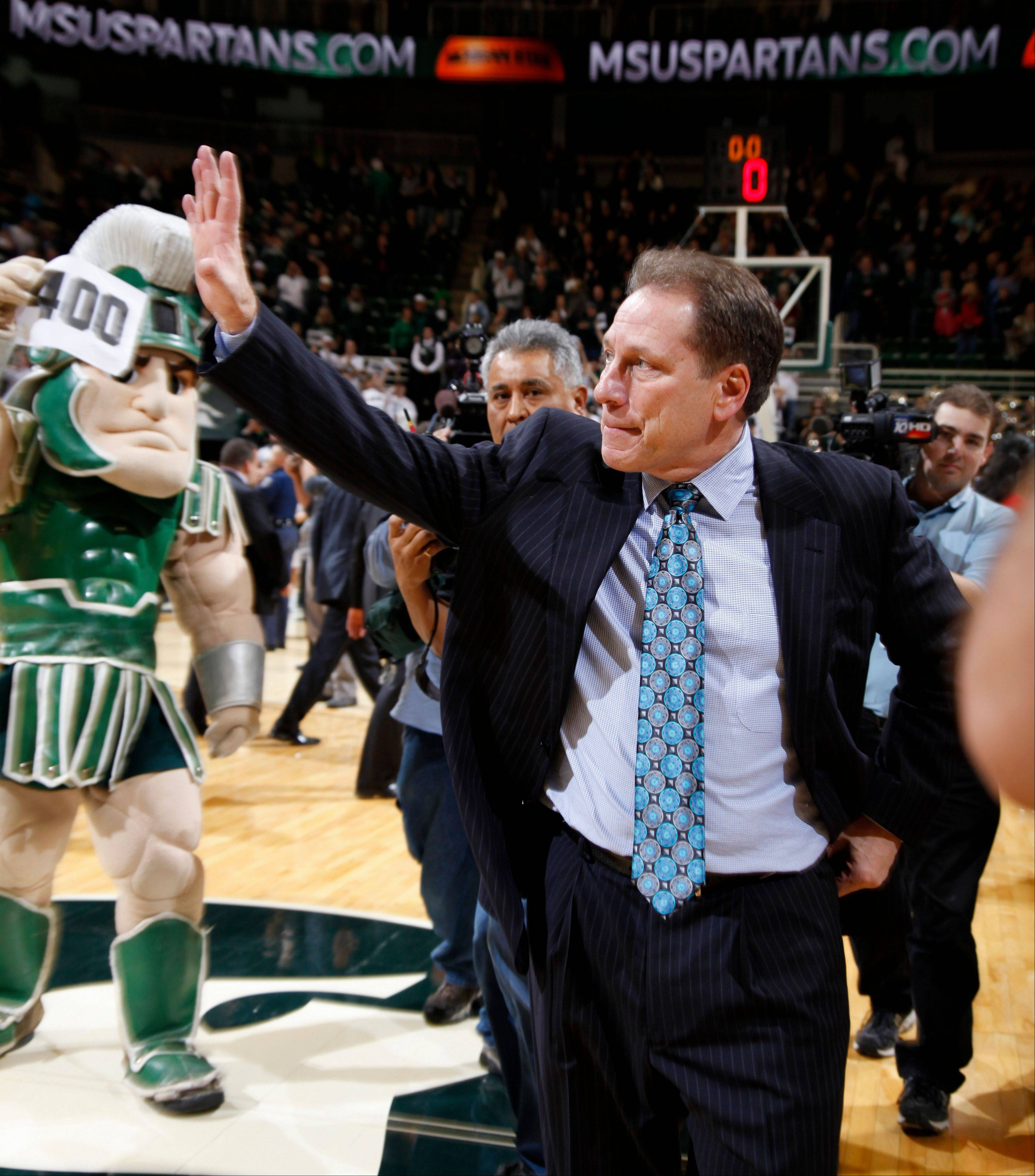 Izzo fired up about 14th-ranked Spartans