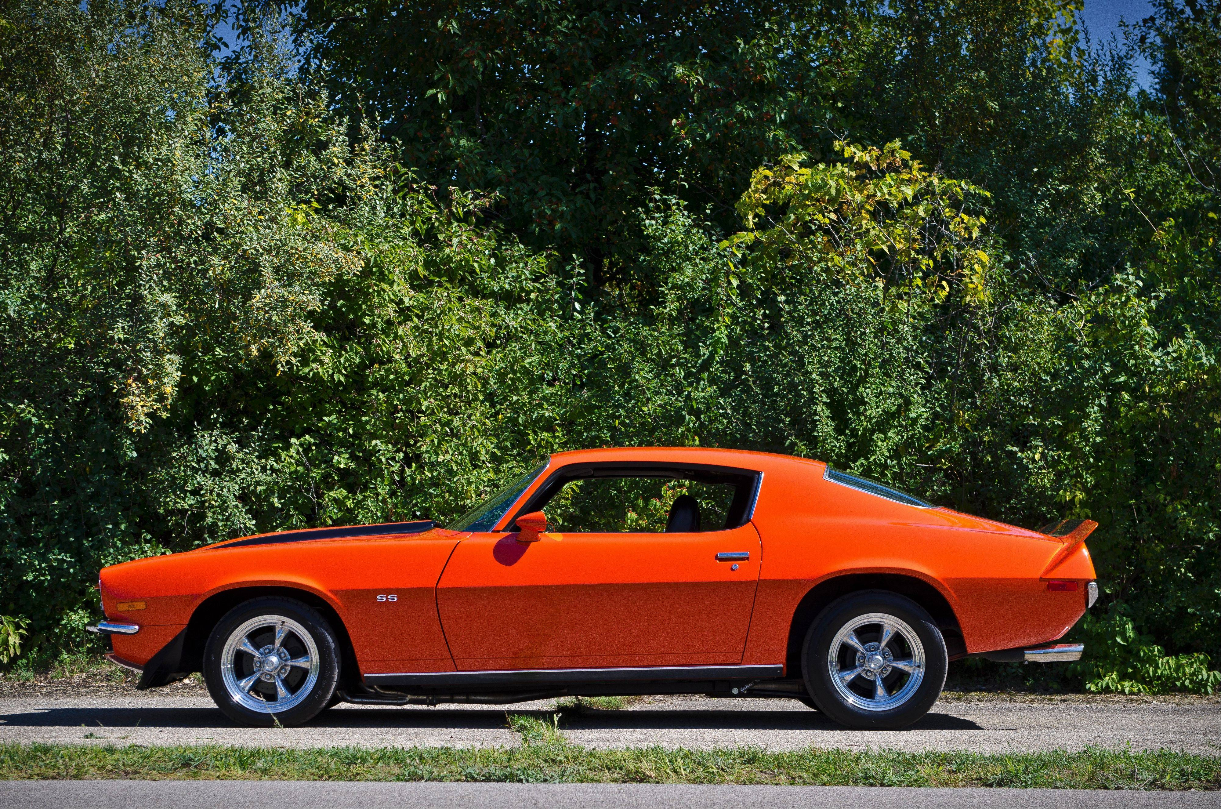 A soldier serving overseas in 1972 first ordered this Ontario Orange Camaro SS from a Chevy dealer in New Jersey.