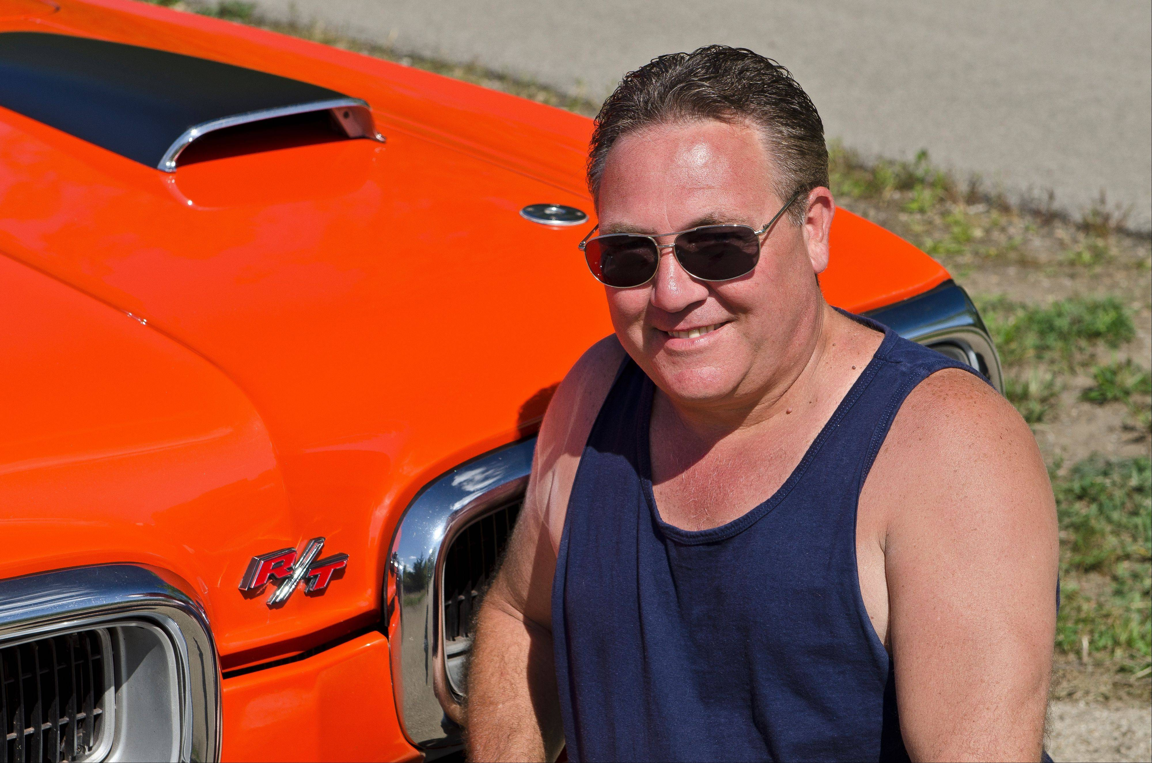 Tim Kelly found his Hemi Orange ride in Cedar Lake, Ind. It needed extensive bodywork, but was exactly the genuine Dodge muscle car he wanted.