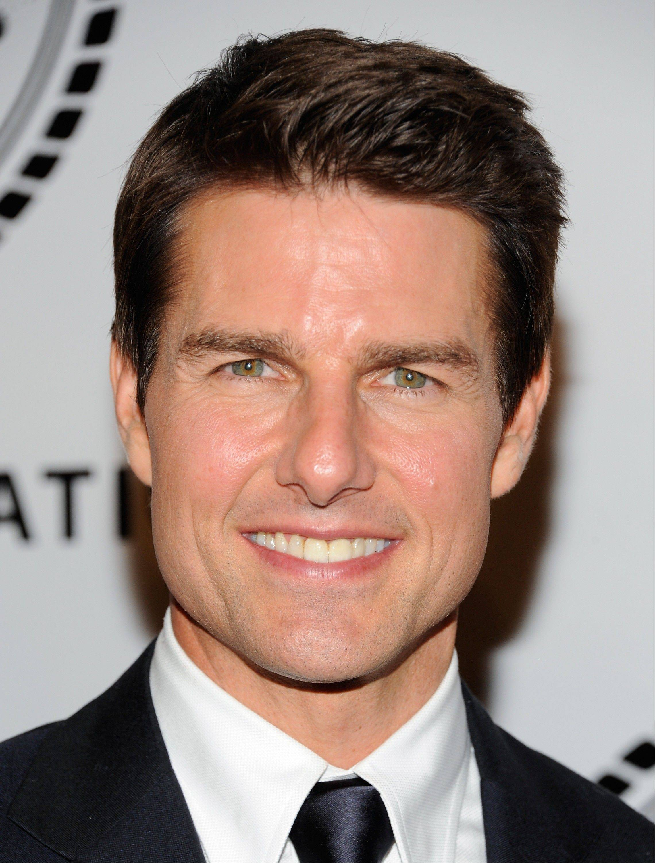 Police say a security guard at actor Tom Cruise's house used a stun gun on a would-be prowler.