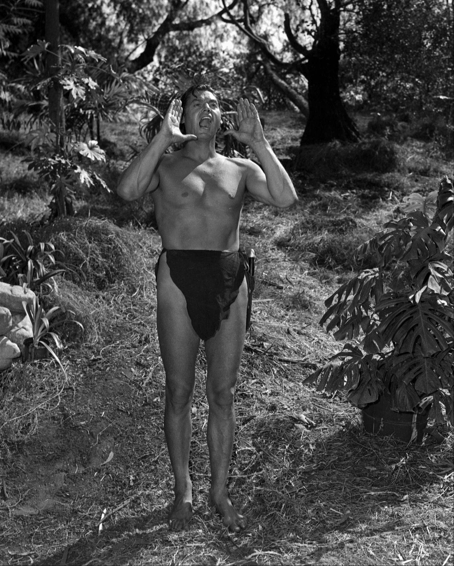 "Johnny Weissmuller played Tarzan in ""Tarzan and the Leopard Men"" in August 1941."
