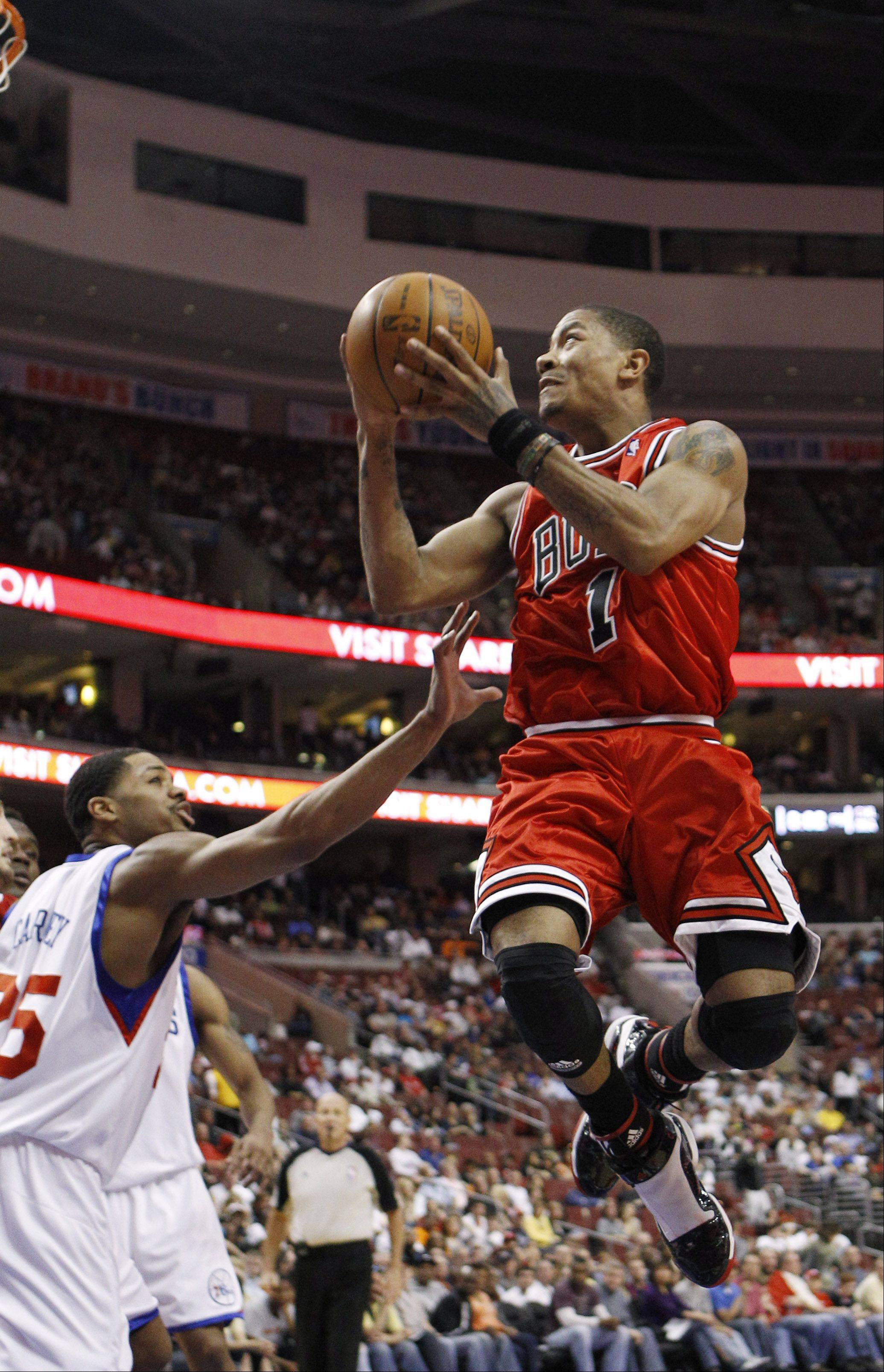 With star guard Derrick Rose sidelined to start the season, the Bulls' season doesn't hold much meaning.