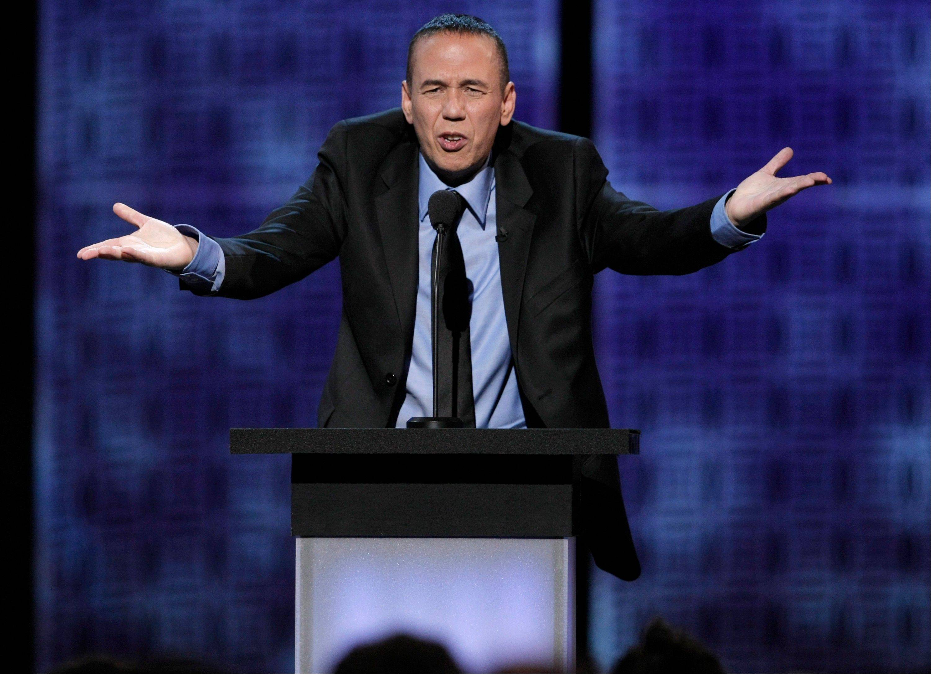 Comedian Gilbert Gottfried will appear at Zanies locations in Chicago, St. Charles and Rosemont.