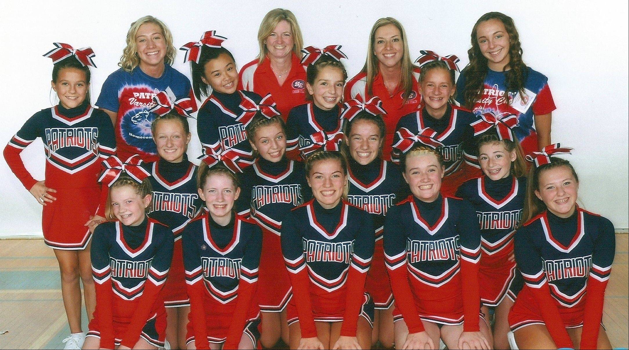 The South Elgin Varsity Cheer Team will compete at the Cheeribean: 2012 Cheer and Poms Competition at the Sears Centre Arena in Hoffman Estates on Saturday, Nov. 3.