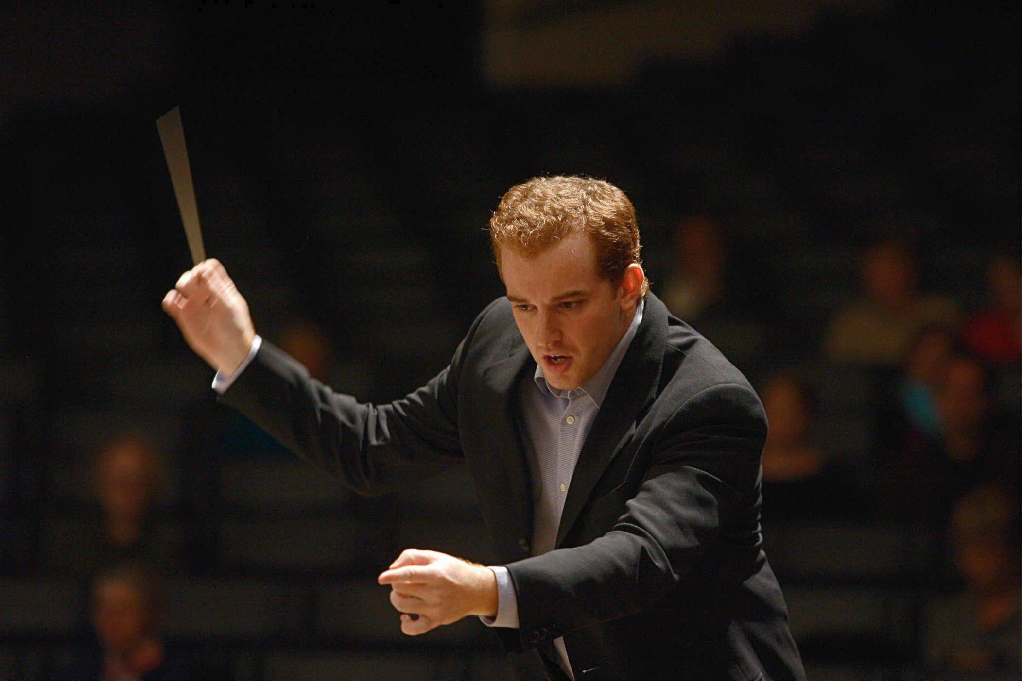 Steve Jarvi will conduct the Elgin Symphony Orchestra on Saturday and Sunday, Nov. 3-4, at the Hemmens Cultural Center in Elgin.