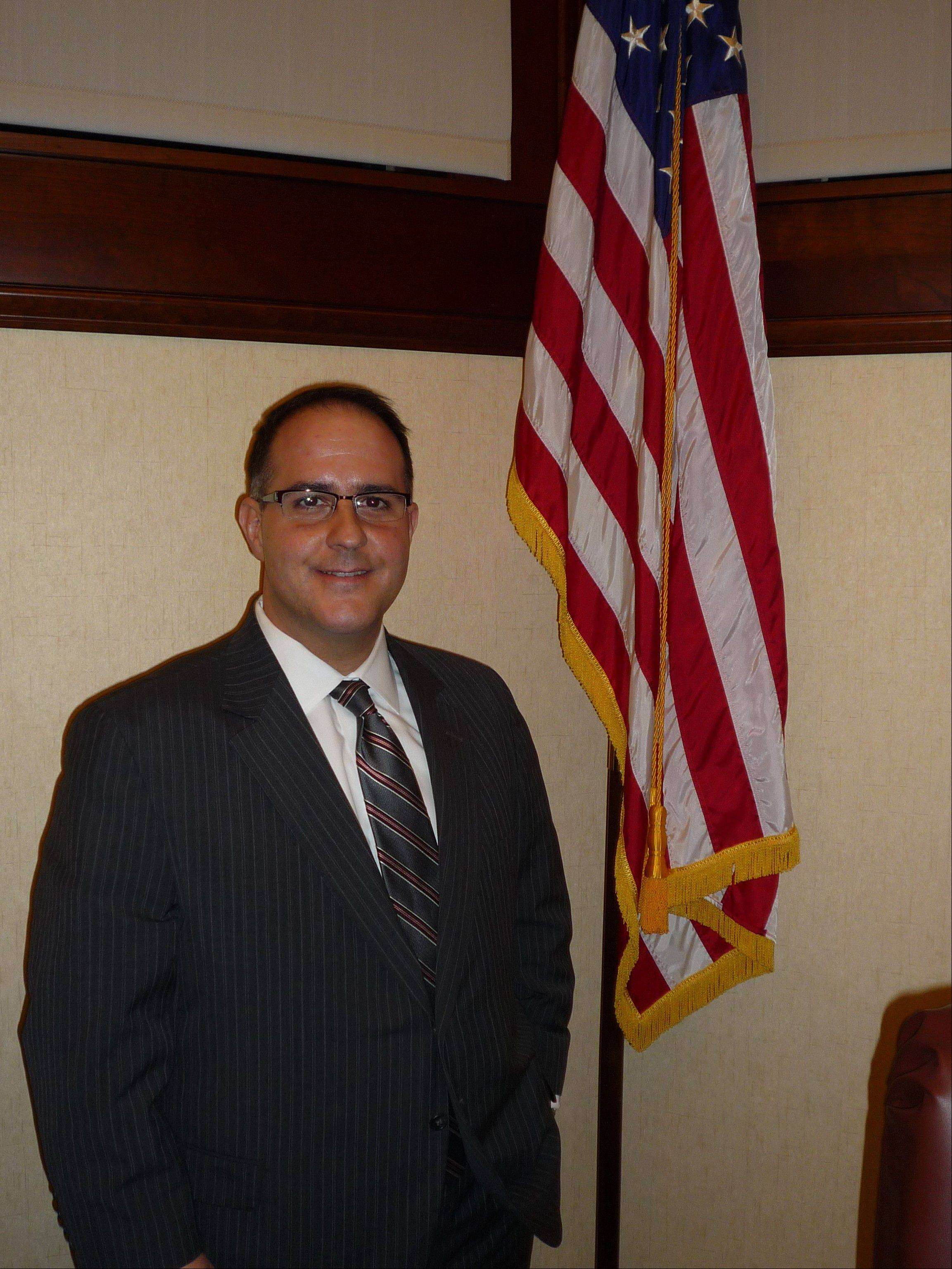 Bartlett Village President Michael Airdo
