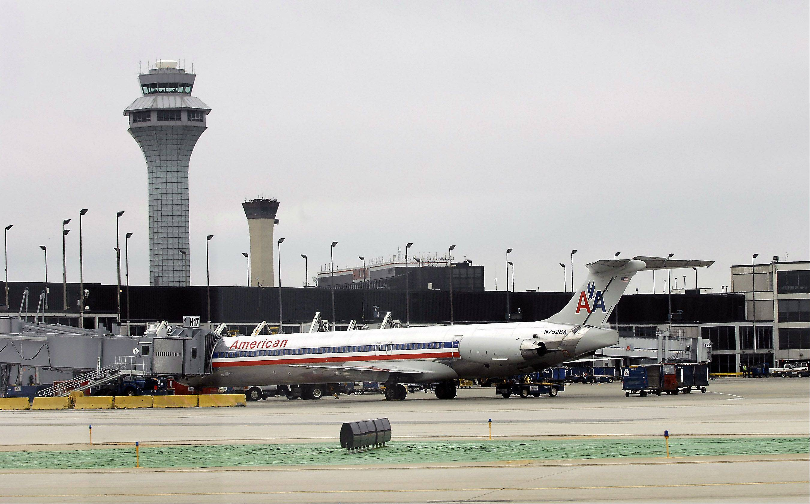 Bad weather on the East Coast is affecting air traffic at O'Hare.
