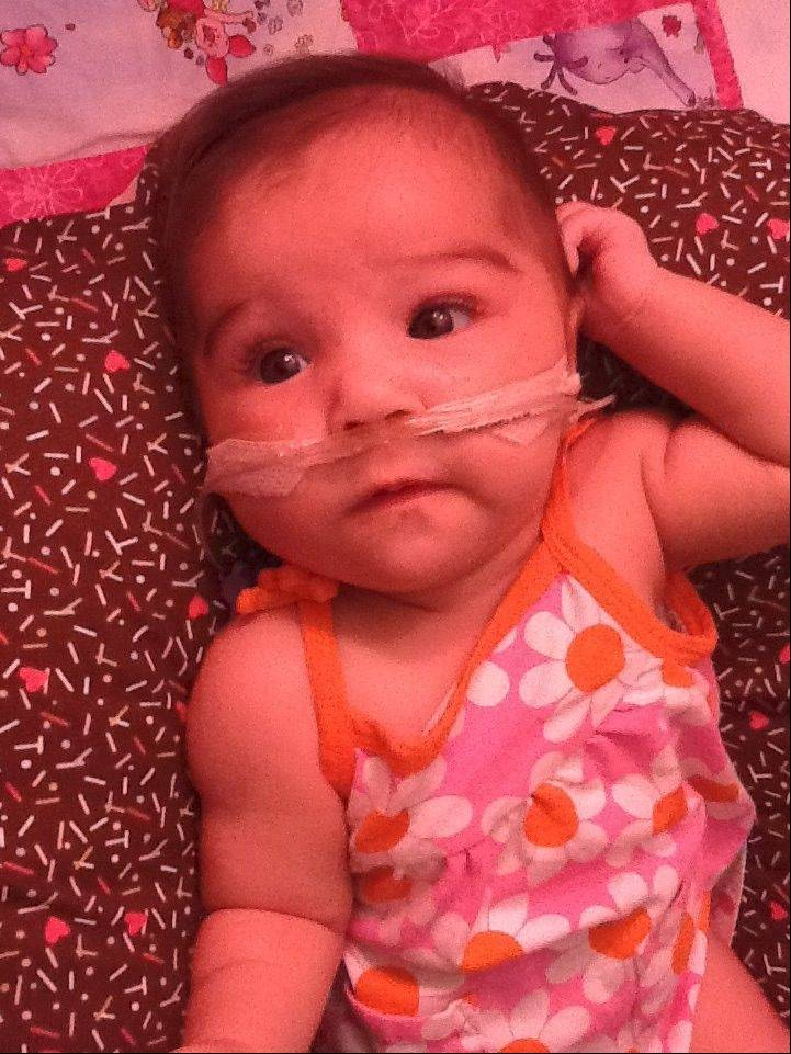 The family of Sophia Gillihan-Irigoyen of Itasca will sponsor a Dec. 8 fundraiser for the 5-month-old who needs several critical procedures, including open-heart surgery.