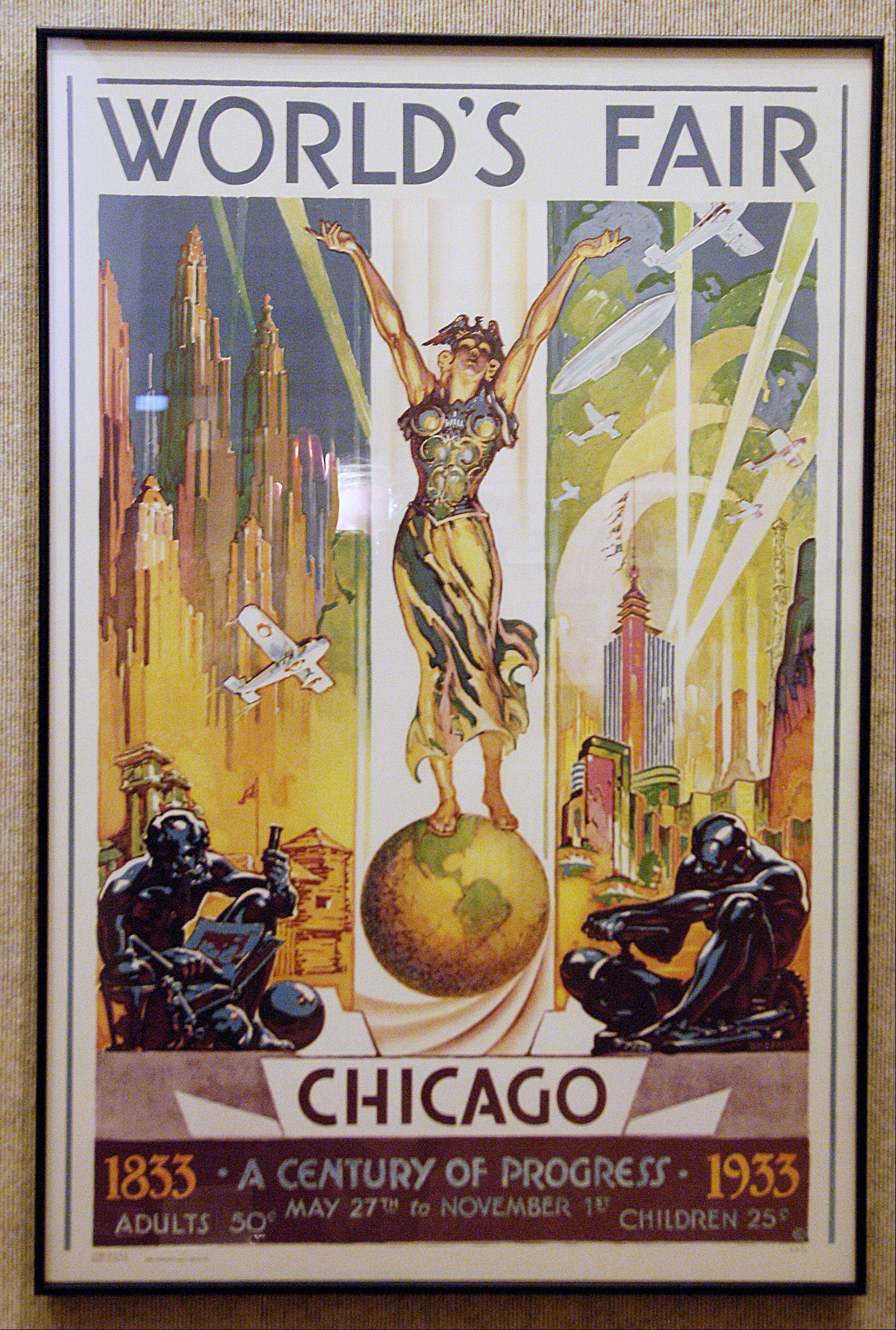 A 1933 Chicago World's Fair poster.