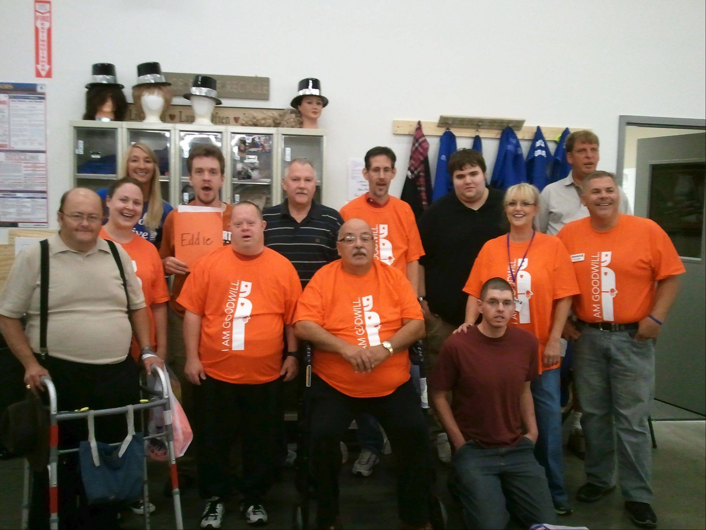 "Halloween sales at Goodwill stores make it possible for adults with disabilities to find jobs through the ""Let's Go to Work!"" program at the charity's Huntley store."
