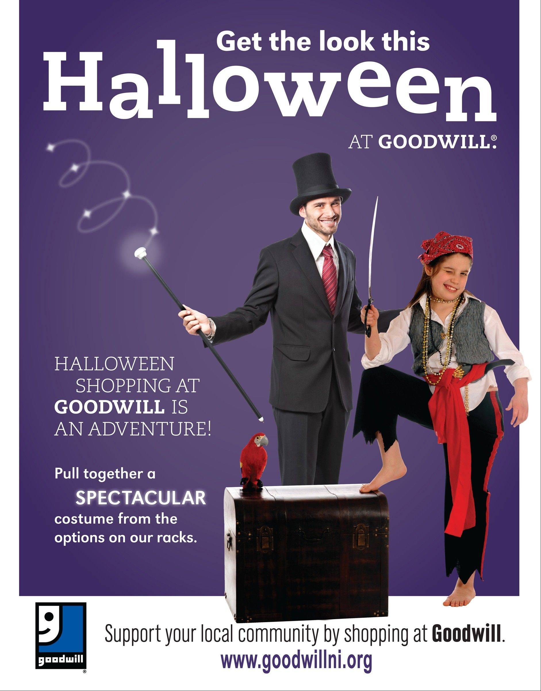 The people who donated that top hat or headscarf to Goodwill might not have envisioned those items would end up as props in Halloween costumes. But Halloween sales fund many Goodwill programs.