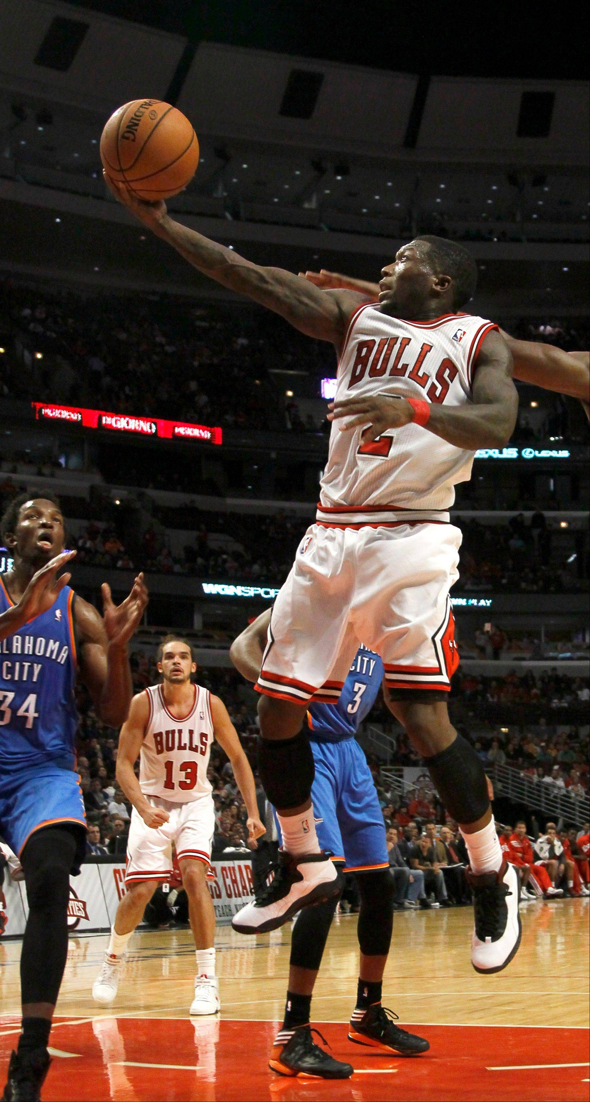 Bulls point guard Nate Robinson has been a pleasant surprise with his scoring ability, and he could be a valuable asset off the bench this season.