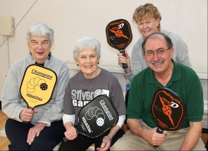 Adults, ages 50 and older, can pop-in for pickleball at the Schaumburg Park District's Sport Center from 9 a.m. to noon, Wednesdays and Thursdays through May 30.