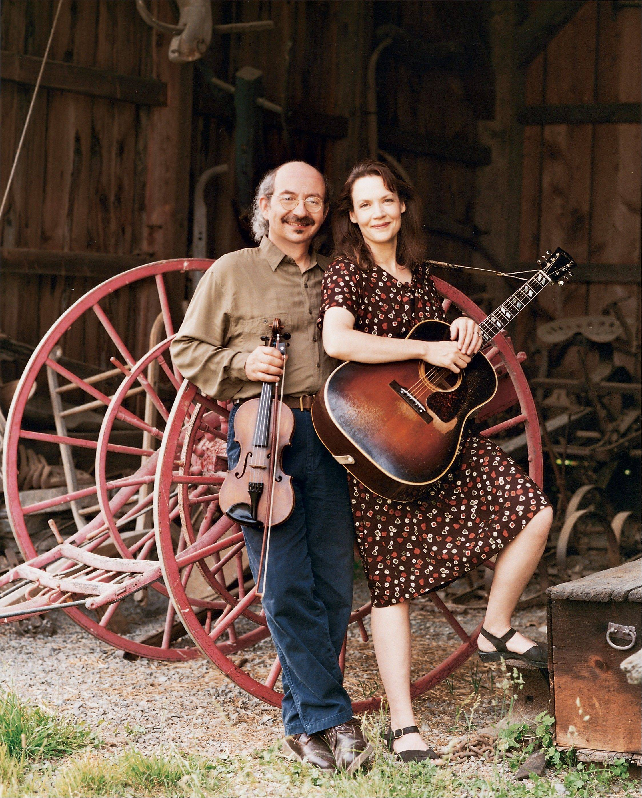 Jay Ungar and Molly Mason perform American roots music at 7:30 p.m. Friday, Nov. 2, to the Norris Cultural Arts Center in St. Charles.