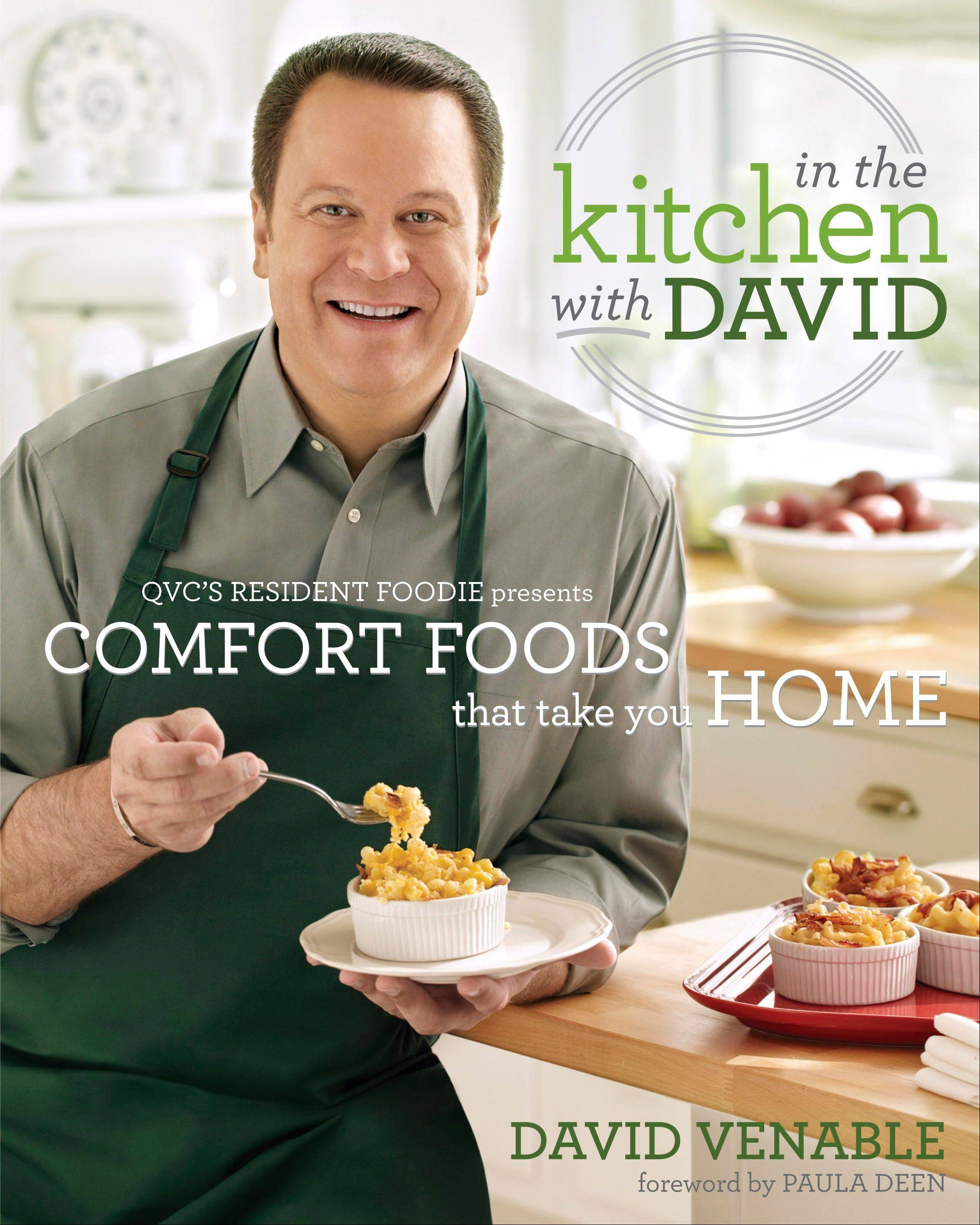 QVC's Dave Venable: Cheesy comfort in new cookbook