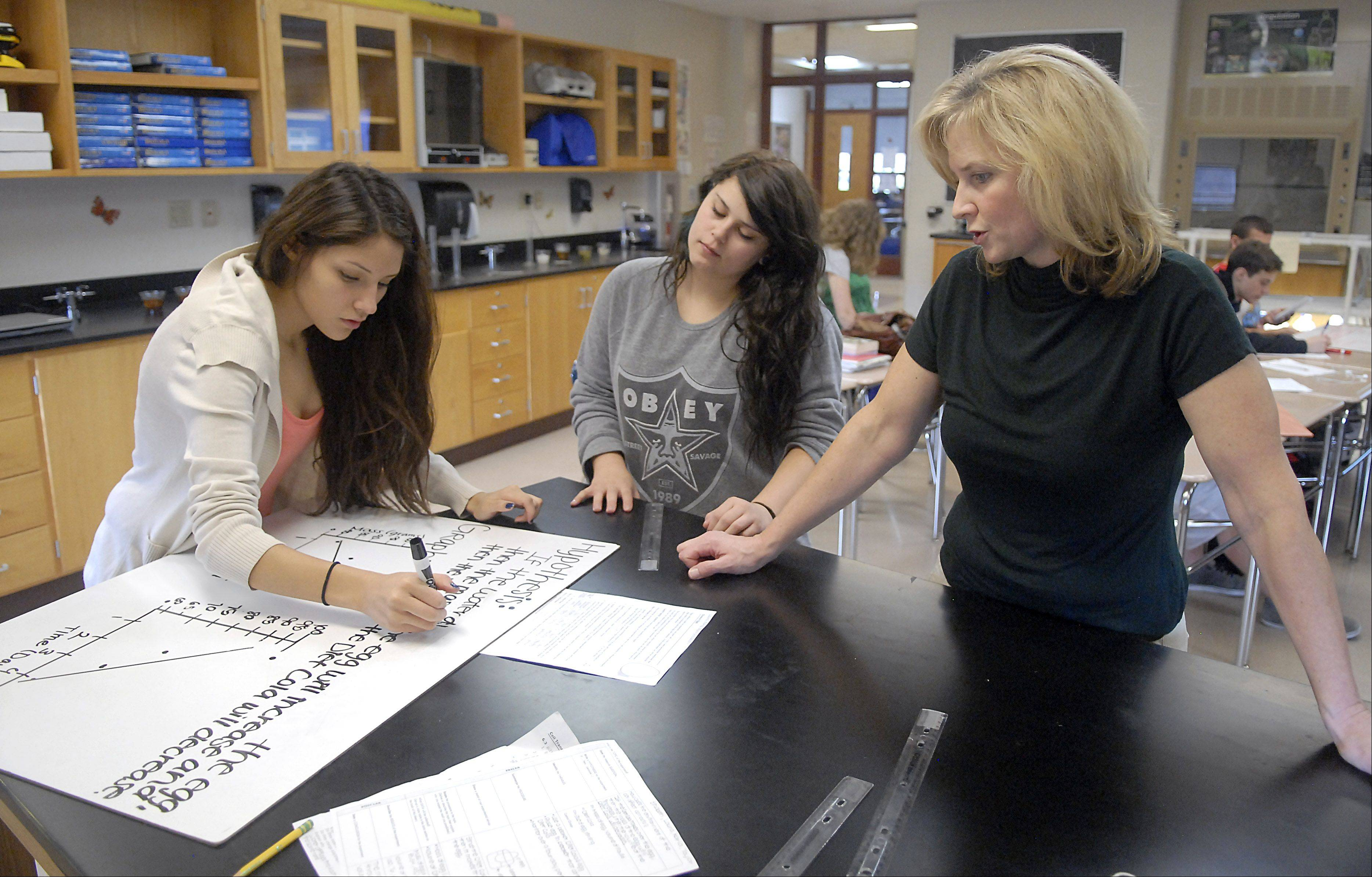School report cards: Huntley posts big gains in science