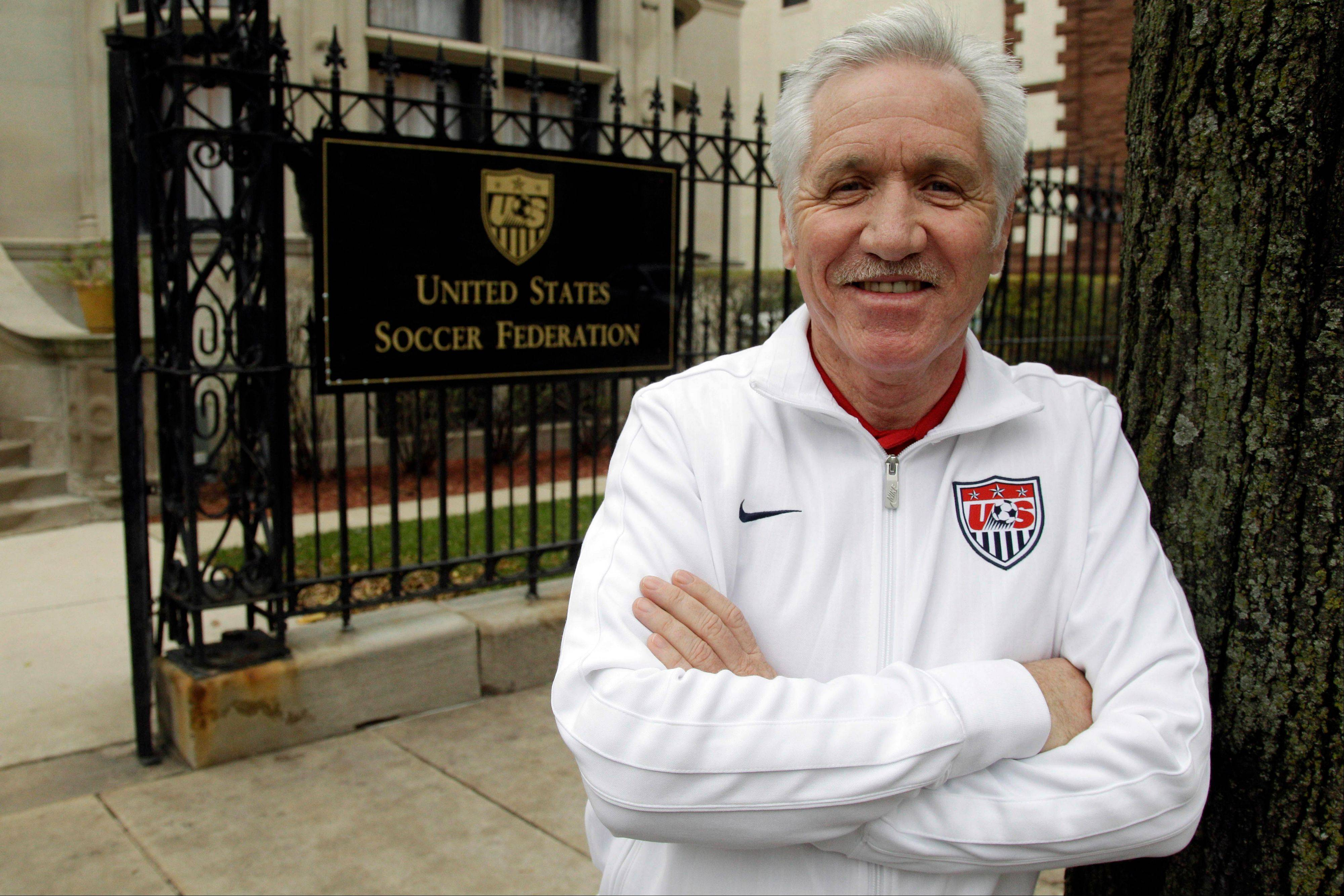 Tom Sermanni was hired Tuesday to replace Pia Sundhage, who led the Americans to back-to-back Olympic gold medals and their first World Cup final in 12 years. Sermanni has spent the last eight years as Australia�s coach, taking the Matildas to the quarterfinals of the last two Women�s World Cups.