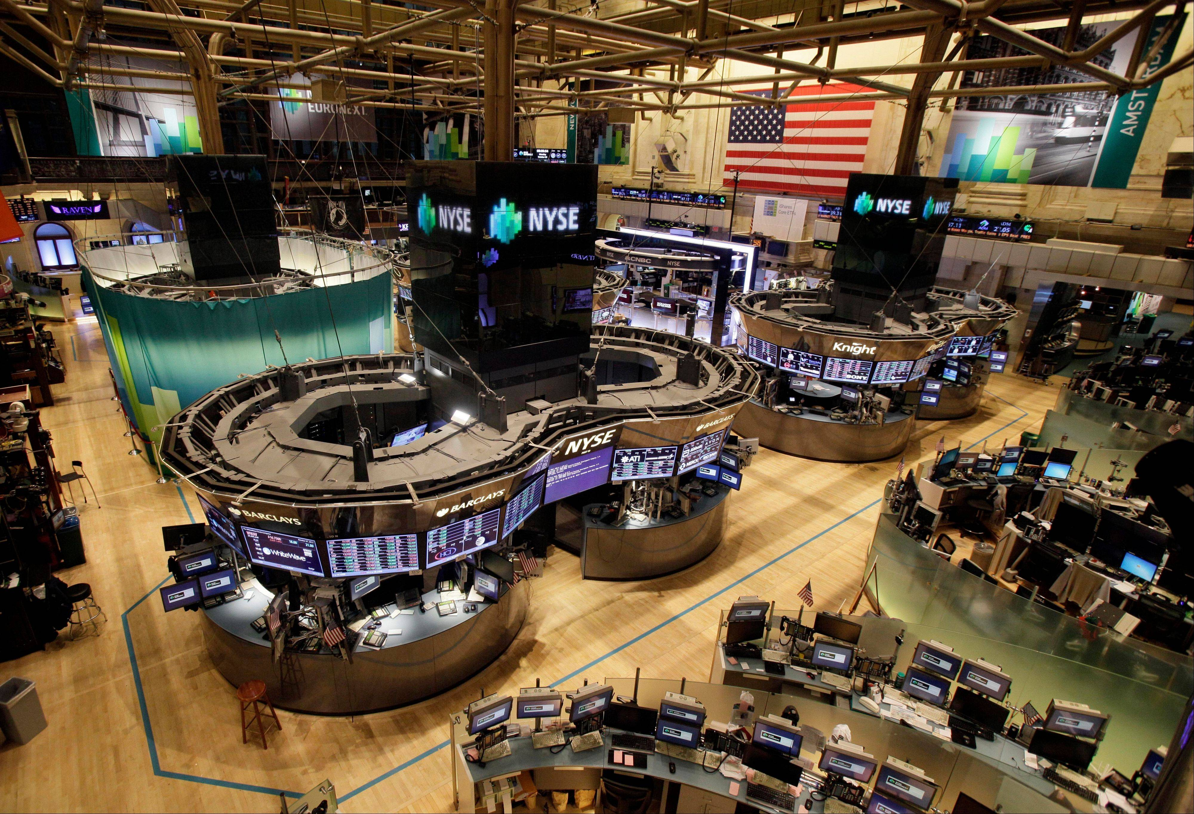 The New York Stock Exchange, empty of traders Monday and Tuesday, is set to reopen today.