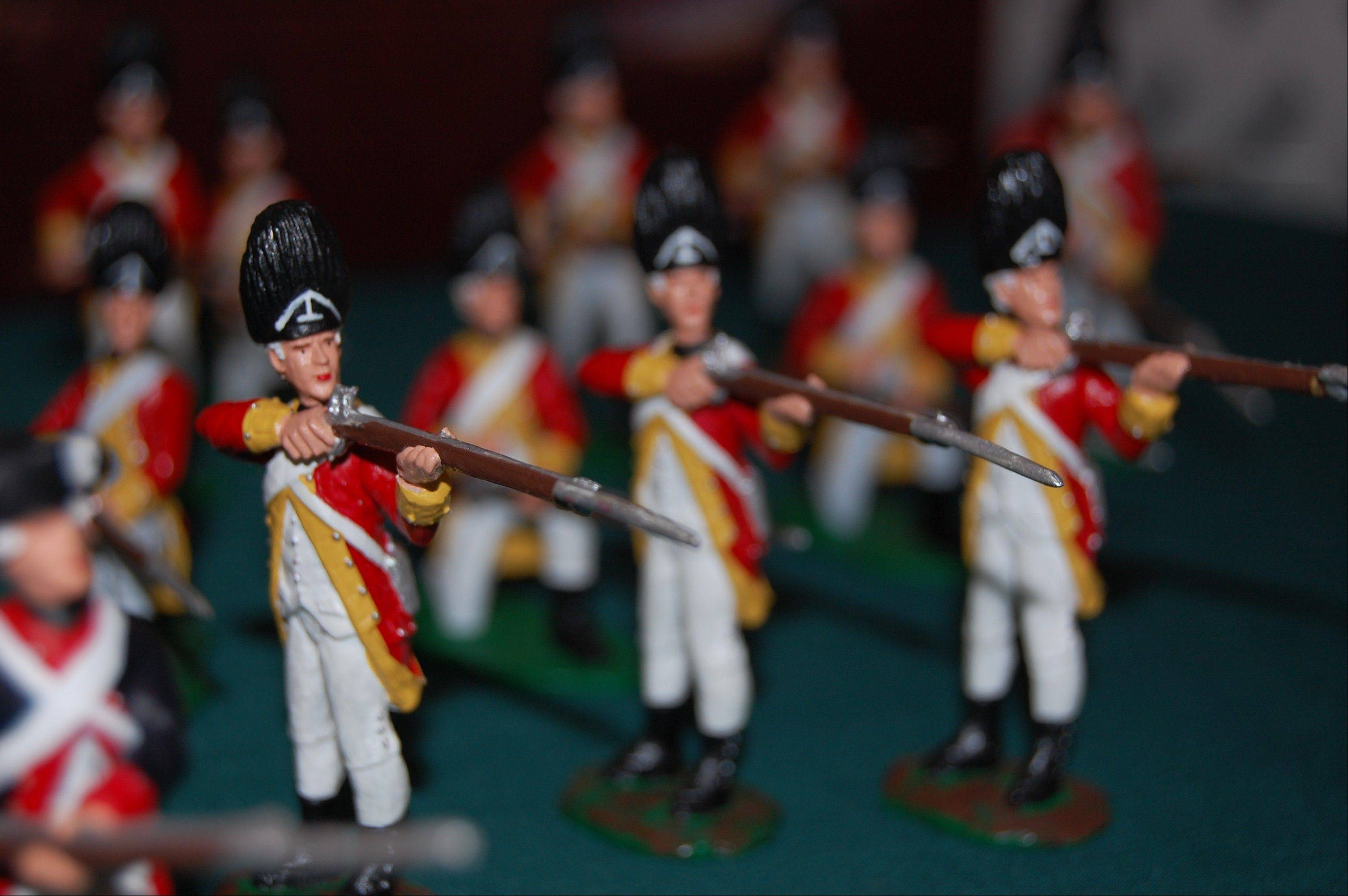 See a variety of miniature military figurines at Cantigny's Toy Soldier Show.