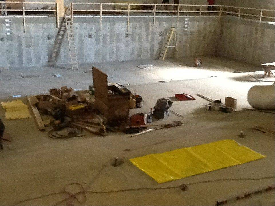 Mundelein's pool, which has been under construction nearly the entire year, is expected to be ready in February.