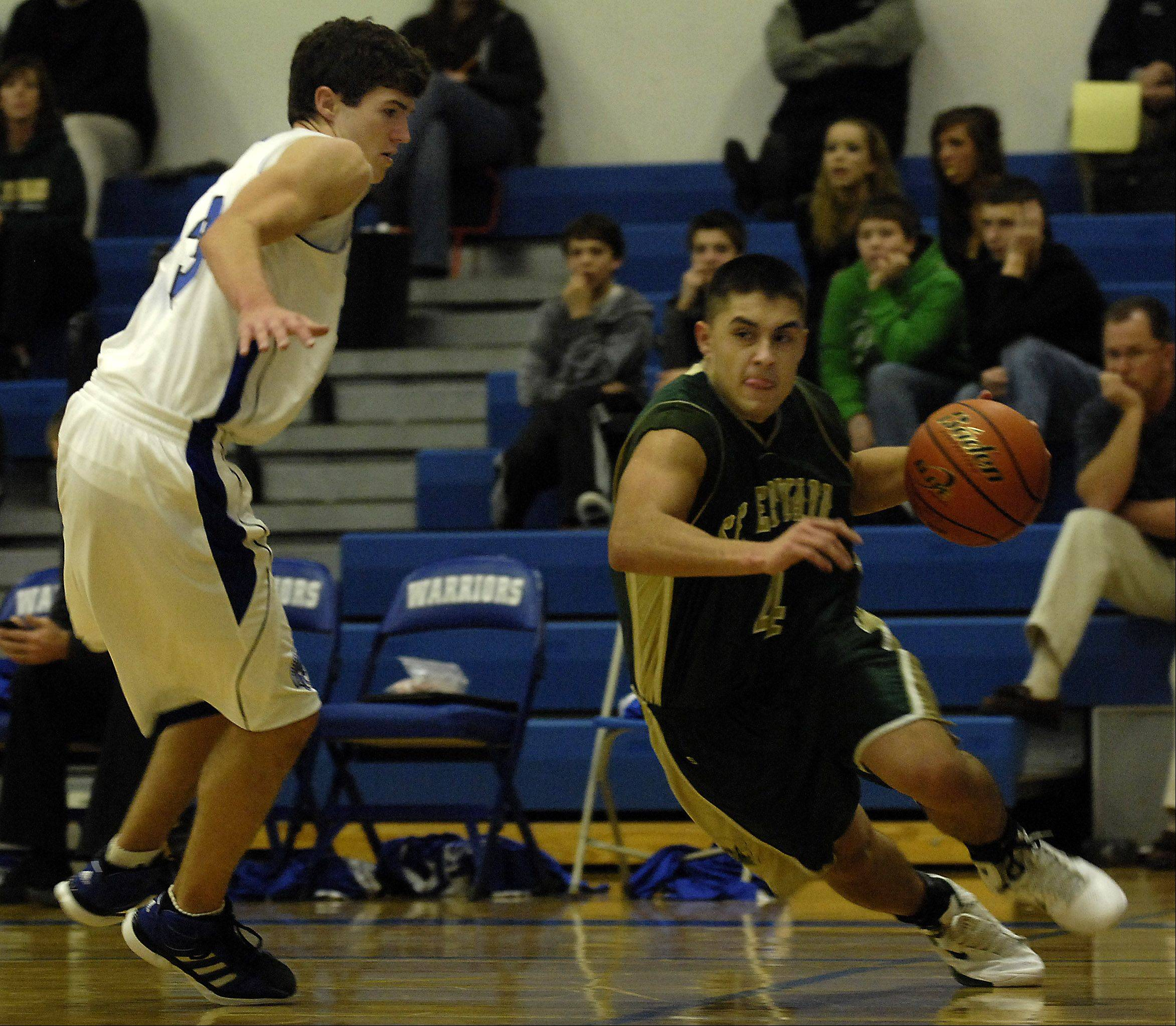 St. Edward graduate Troy Gudino will add some depth to the Elgin Community College men's team this season.