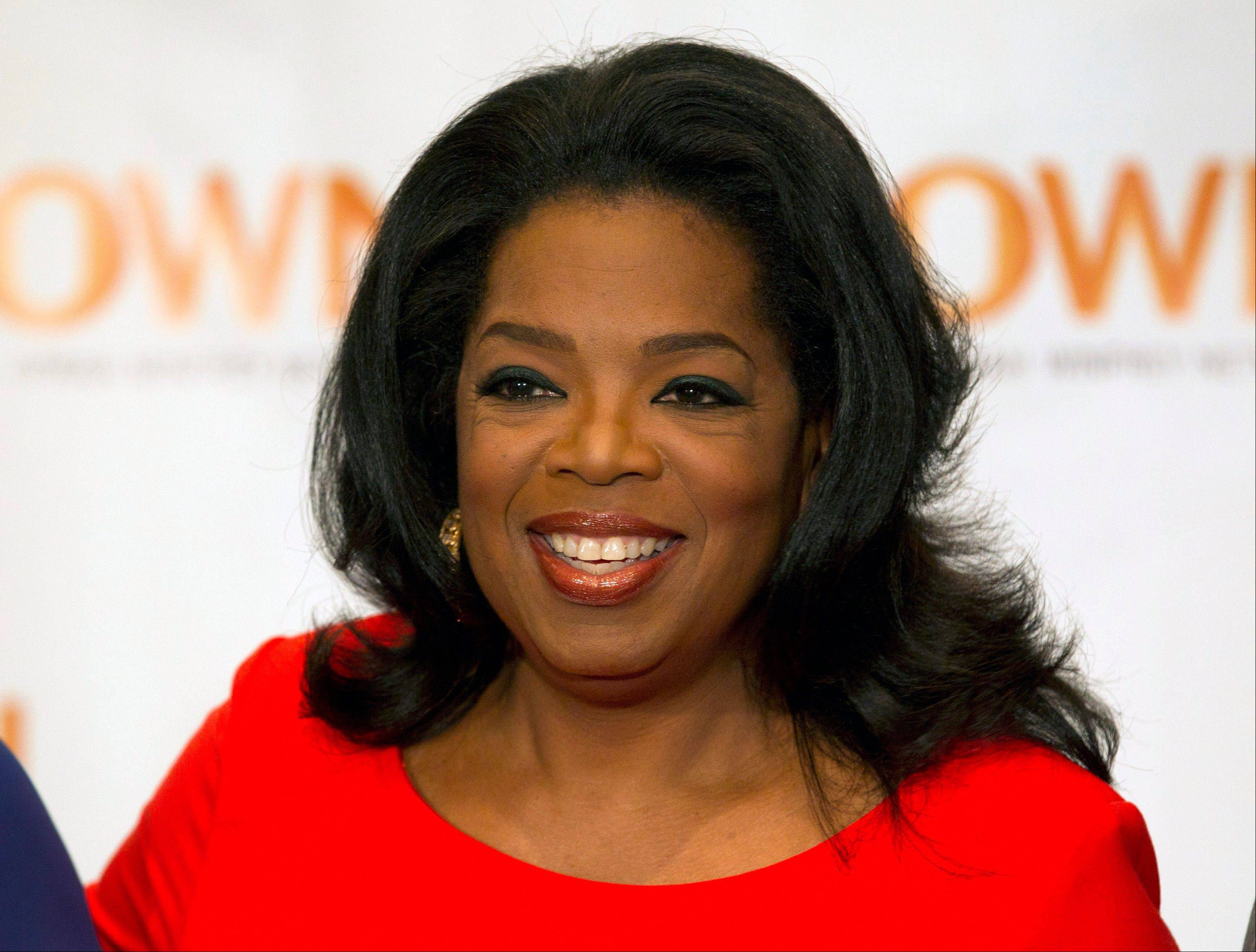 "Oprah Winfrey, seen here, and Arianna Huffington launched ""HuffPost OWN,"" a new section on the Huffington Post website Thursday."