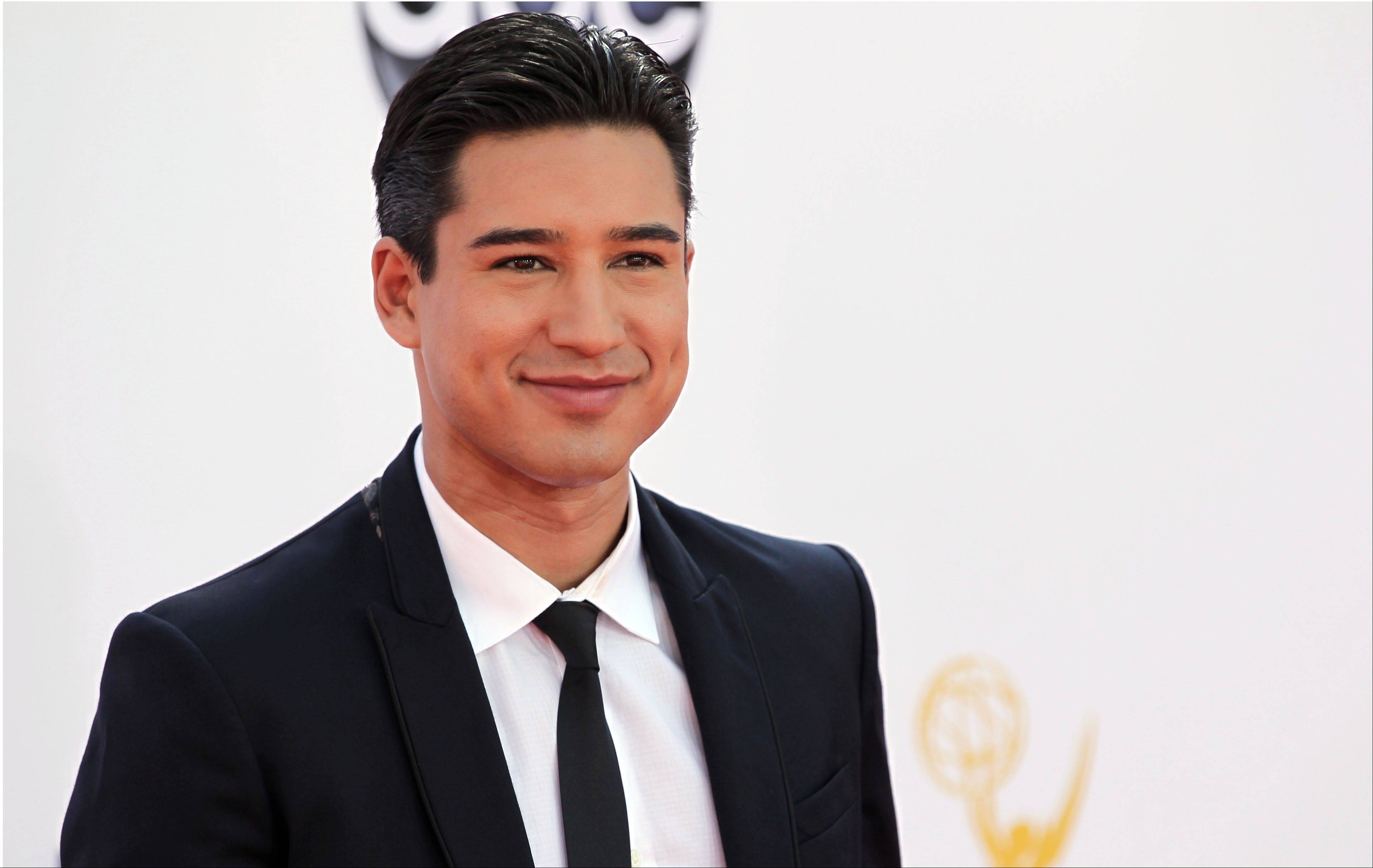 "Mario Lopez, host of ""Extra,"" performed like the pro he is as one of the emcees on the live episode of ""The X Factor."""