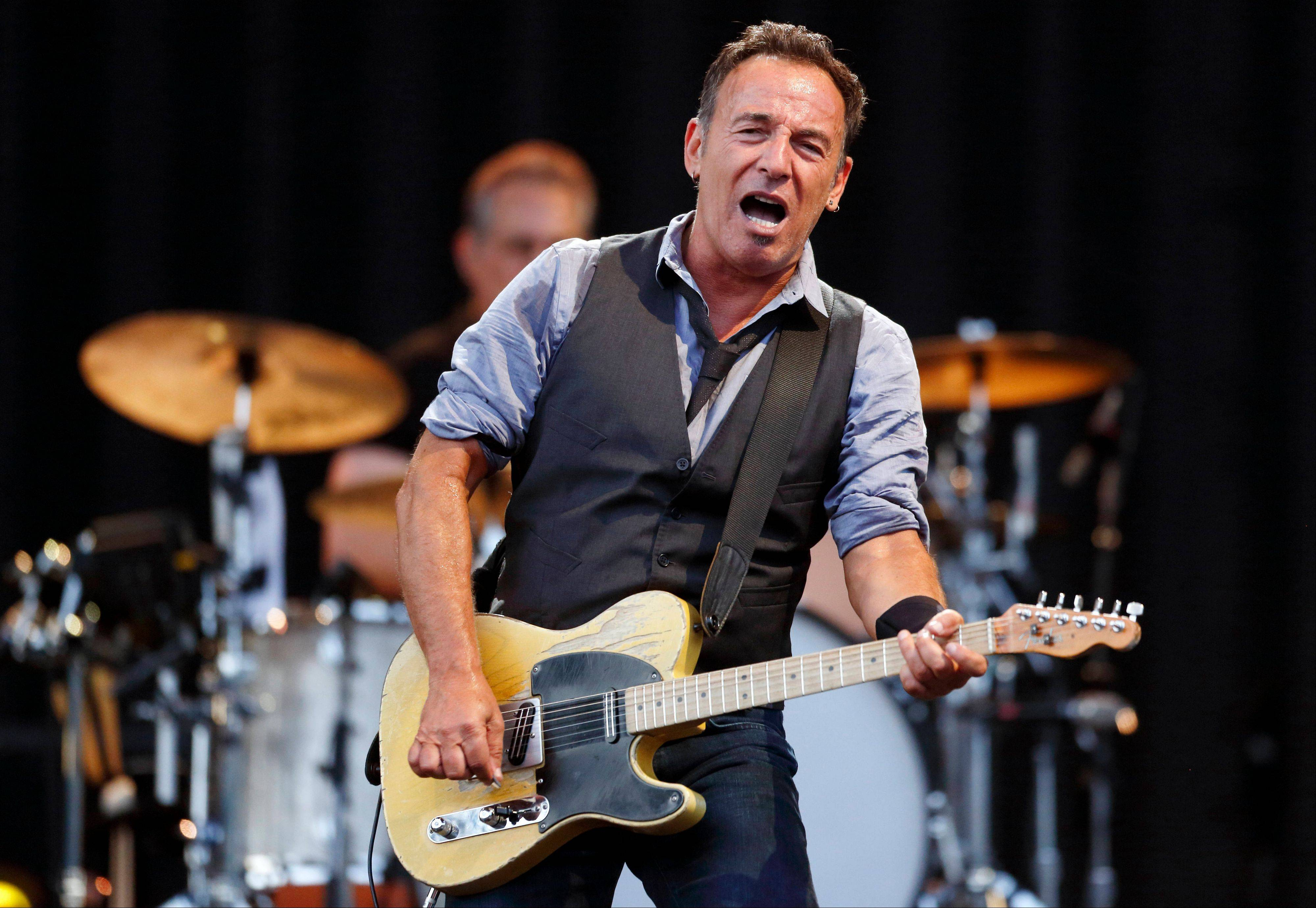 Bruce Springsteen and Jon Bon Jovi of New Jersey and Billy Joel of Long Island are scheduled to appear Friday at a benefit concert for victims of superstorm Sandy.