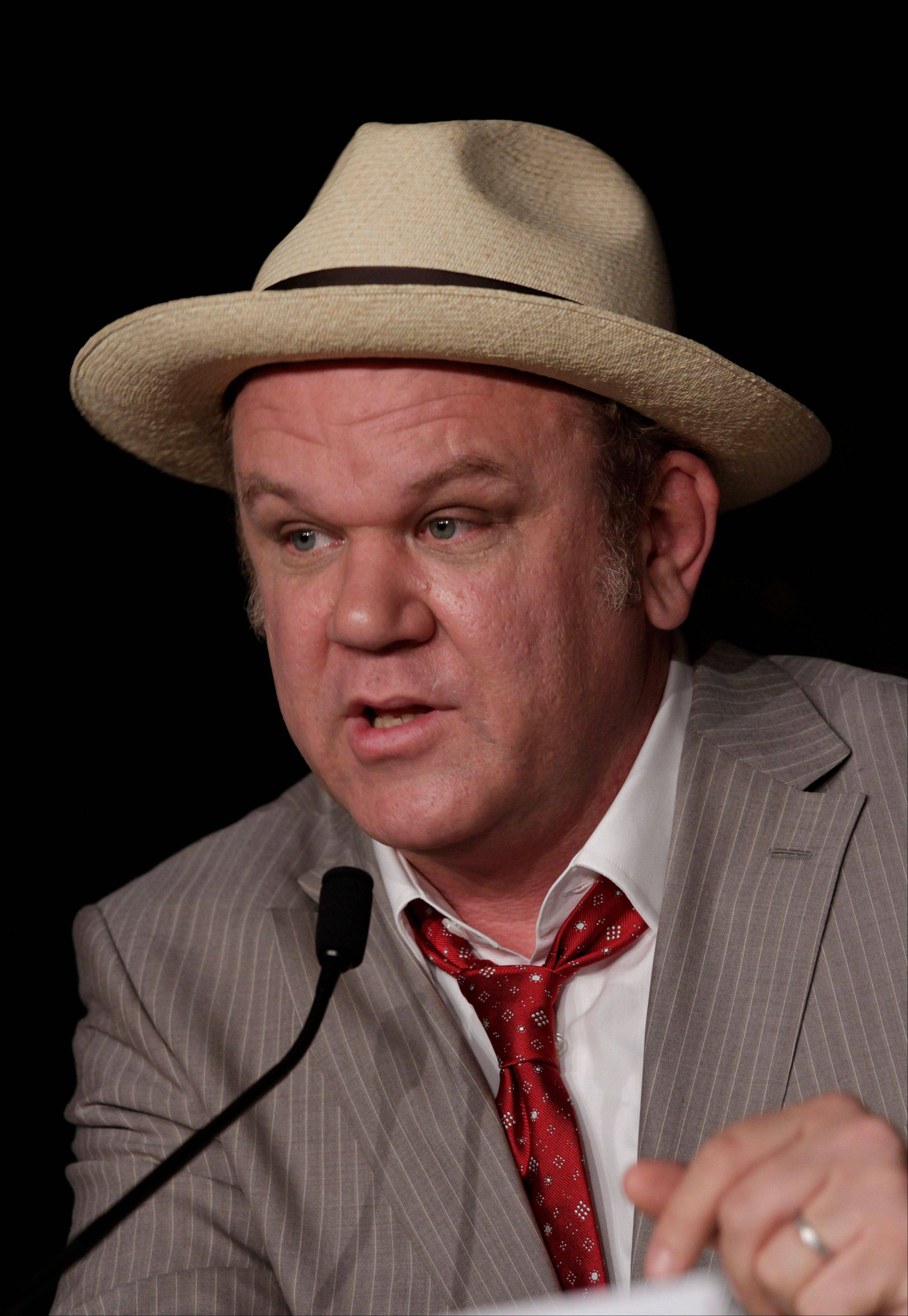 "John C. Reilly voices the title character in ""Wreck-It Ralph."""