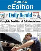 Readers can see their Daily Herald online today at http://eedition.dailyherald.com/eEdition/.