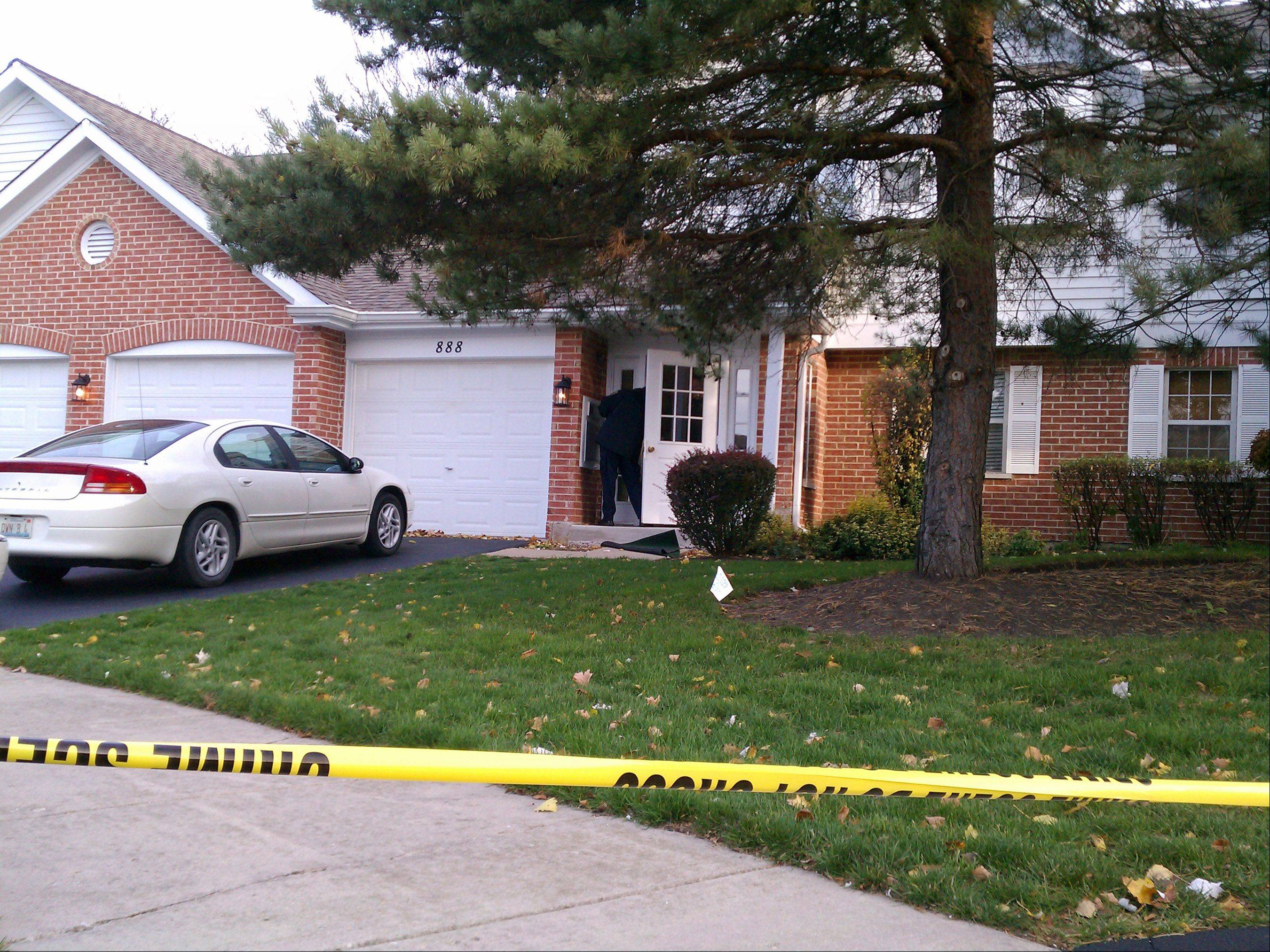 Five-year-old Olivia Dworakowski was stabbed to death at this home in Naperville. Police officers helped find the girl in August who got lost on her first day of kindergarten.