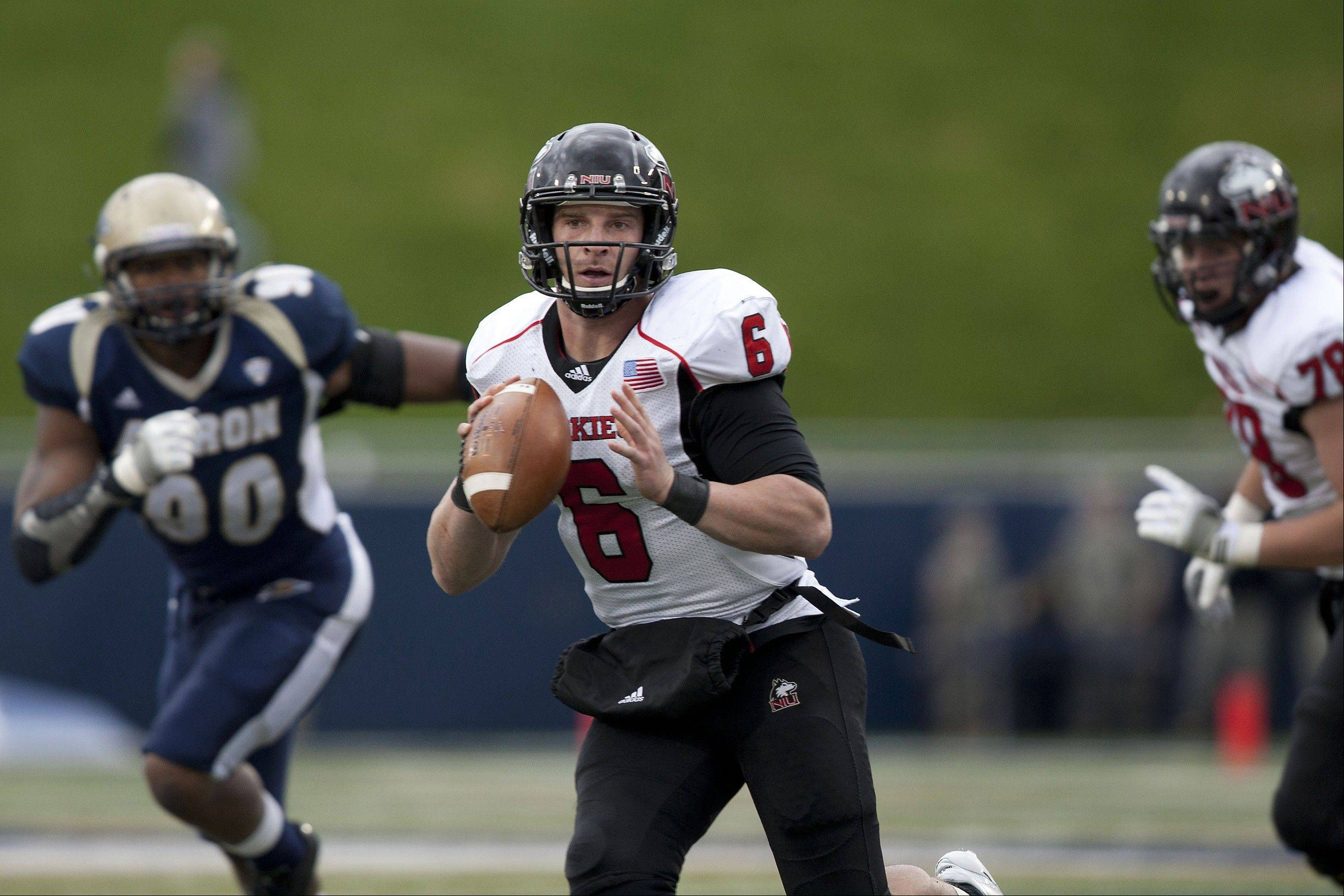 Northern Illinois quarterback Jordan Lynch is thrusting himself into the Heisman vote conversation by leading the nation in total yards.