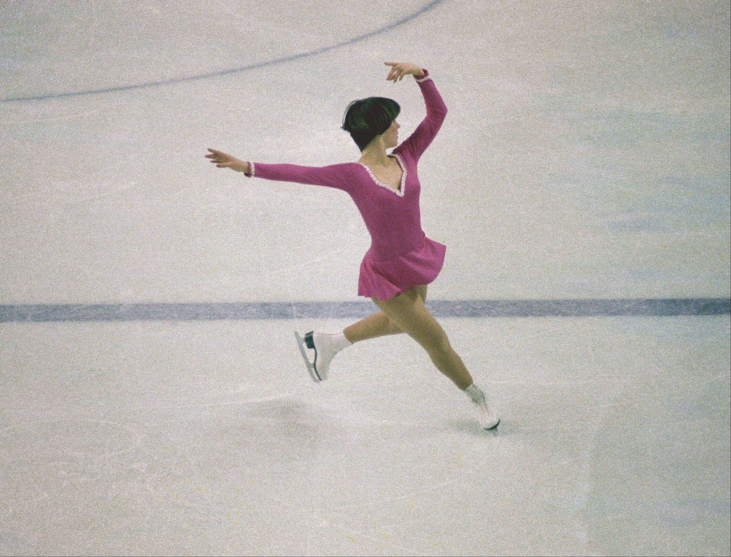 Dorothy Hamill, seen here during the 1976 Olympics, will be part of the Stars on Ice Tour that comes to the Allstate Arena March 8.
