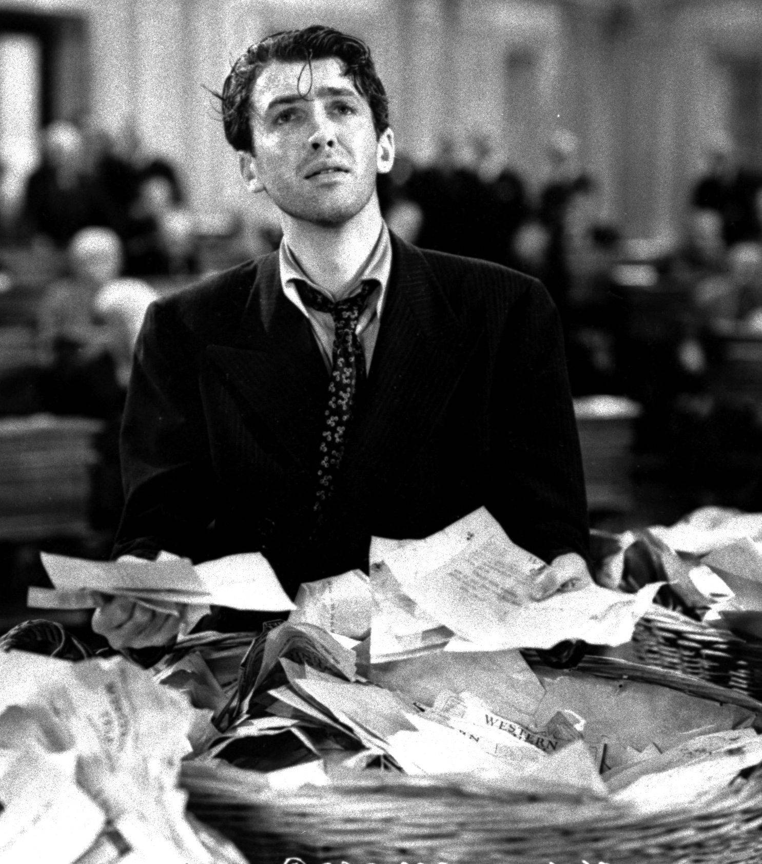 "Scoutmaster Jefferson Smith (Jimmy Stewart) makes a common man pitch before Congress in Frank Capra's 1939 classic ""Mr. Smith Goes to Washington."""