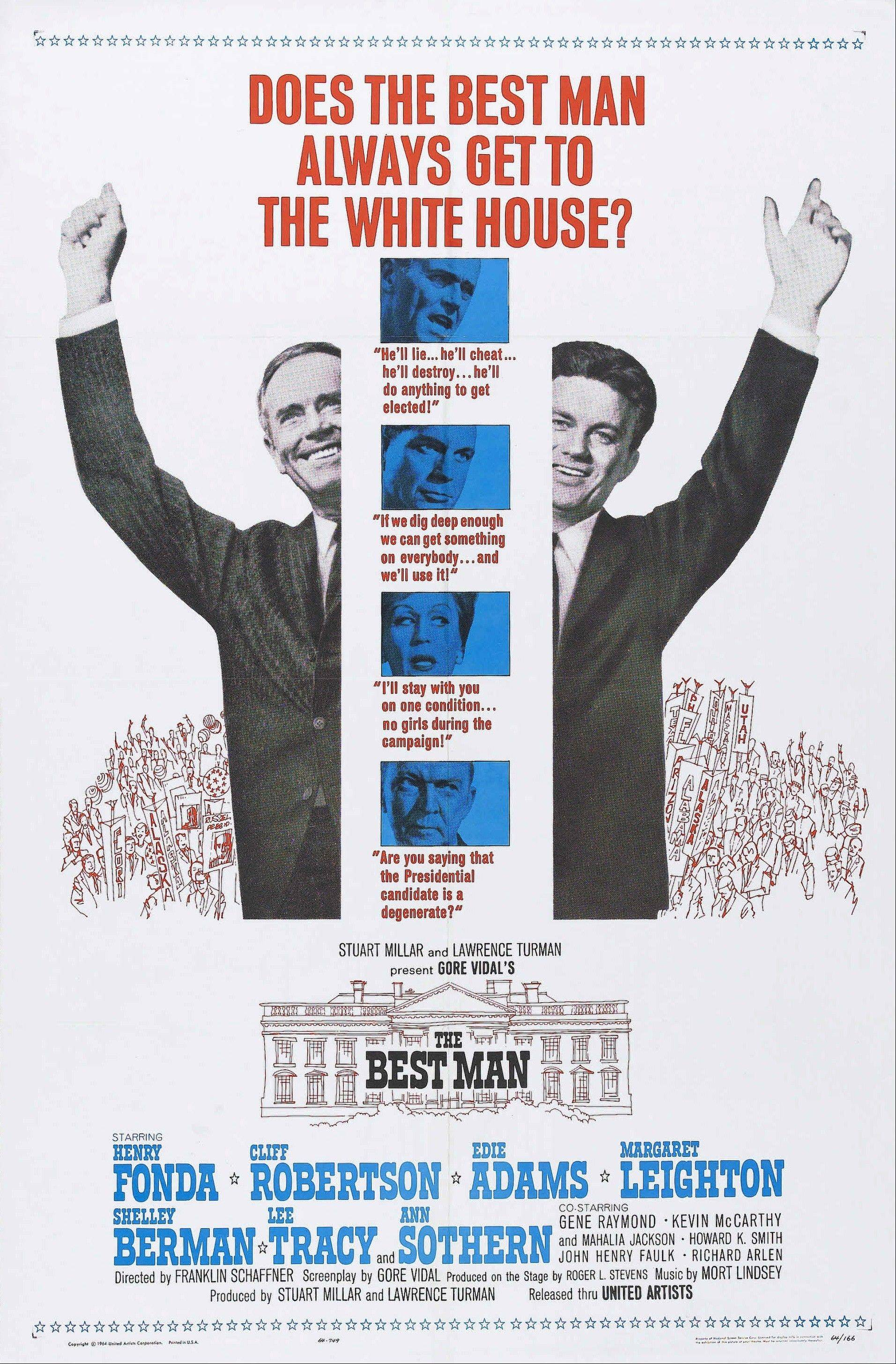 """The Best Man"" offers a tale of back-stabbing presidential contenders."