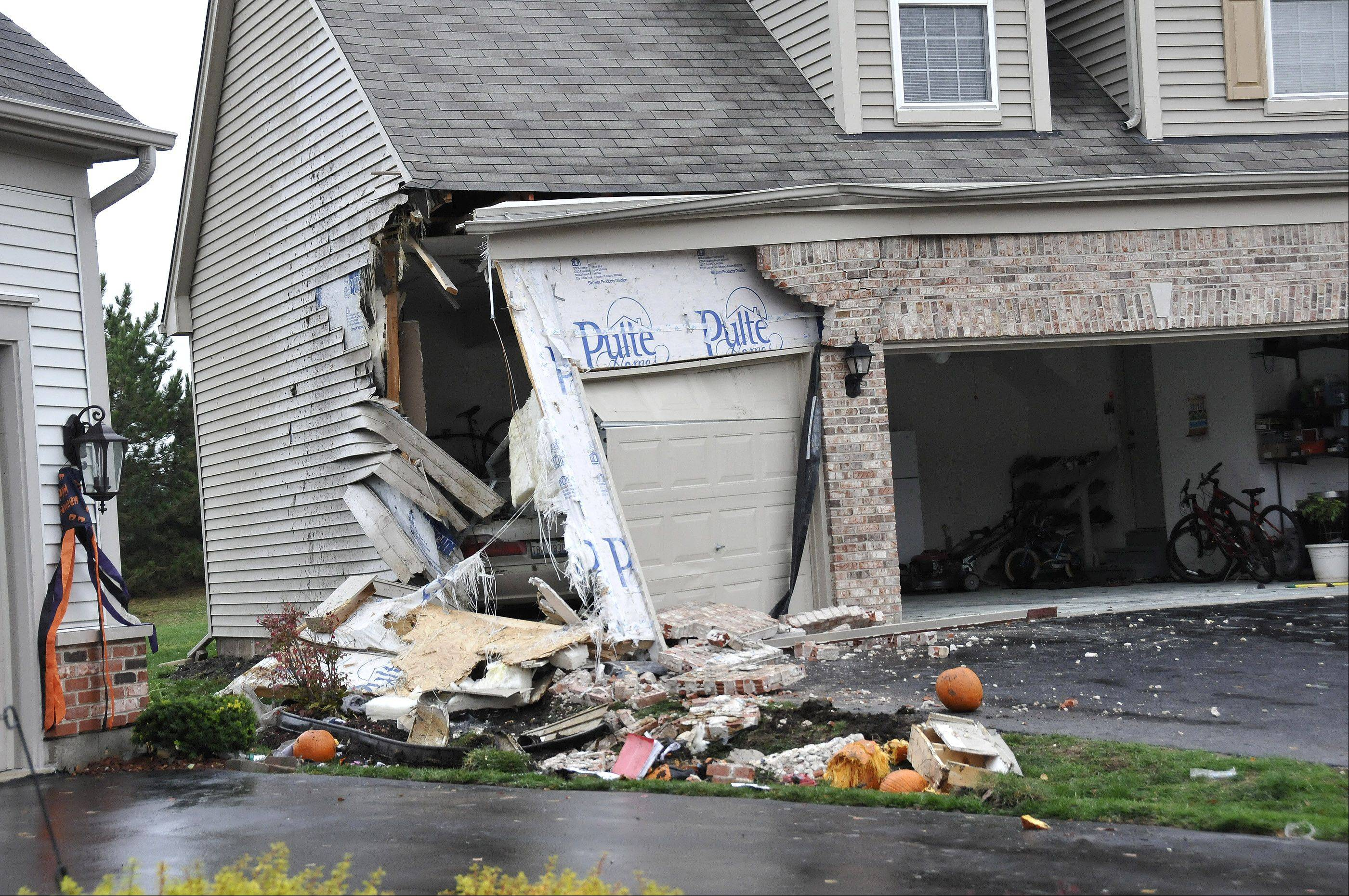 Metea Valley High School student Devin Meadows was killed Oct. 23 when a car he was riding in went out of control and smashed into a house's garage on the 2700 block of Hamman Way in Aurora.