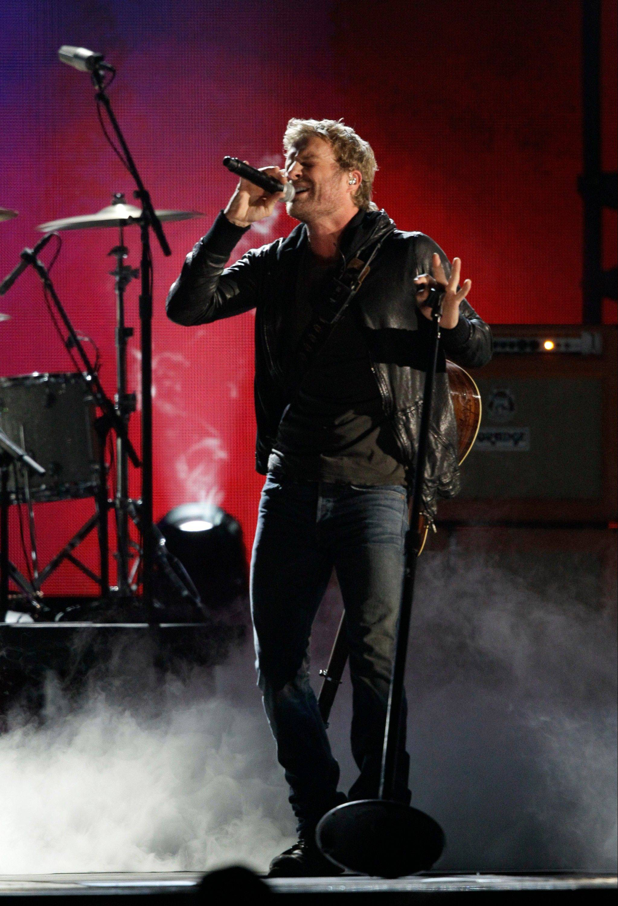 Dierks Bentley at the 46th Annual Country Music Awards at the Bridgestone Arena on Thursday, Nov. 1, 2012, in Nashville, Tenn.