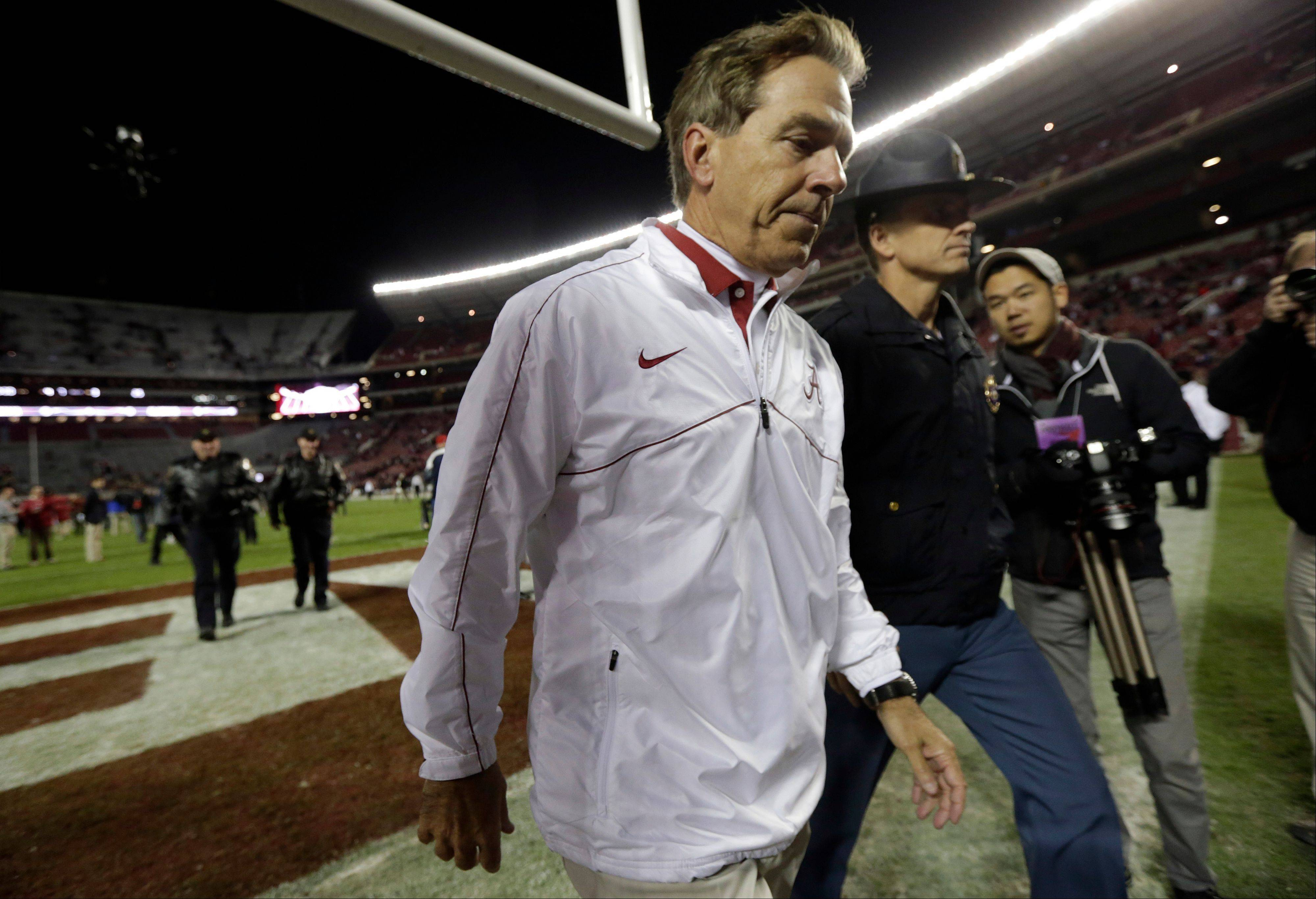 Alabama coach