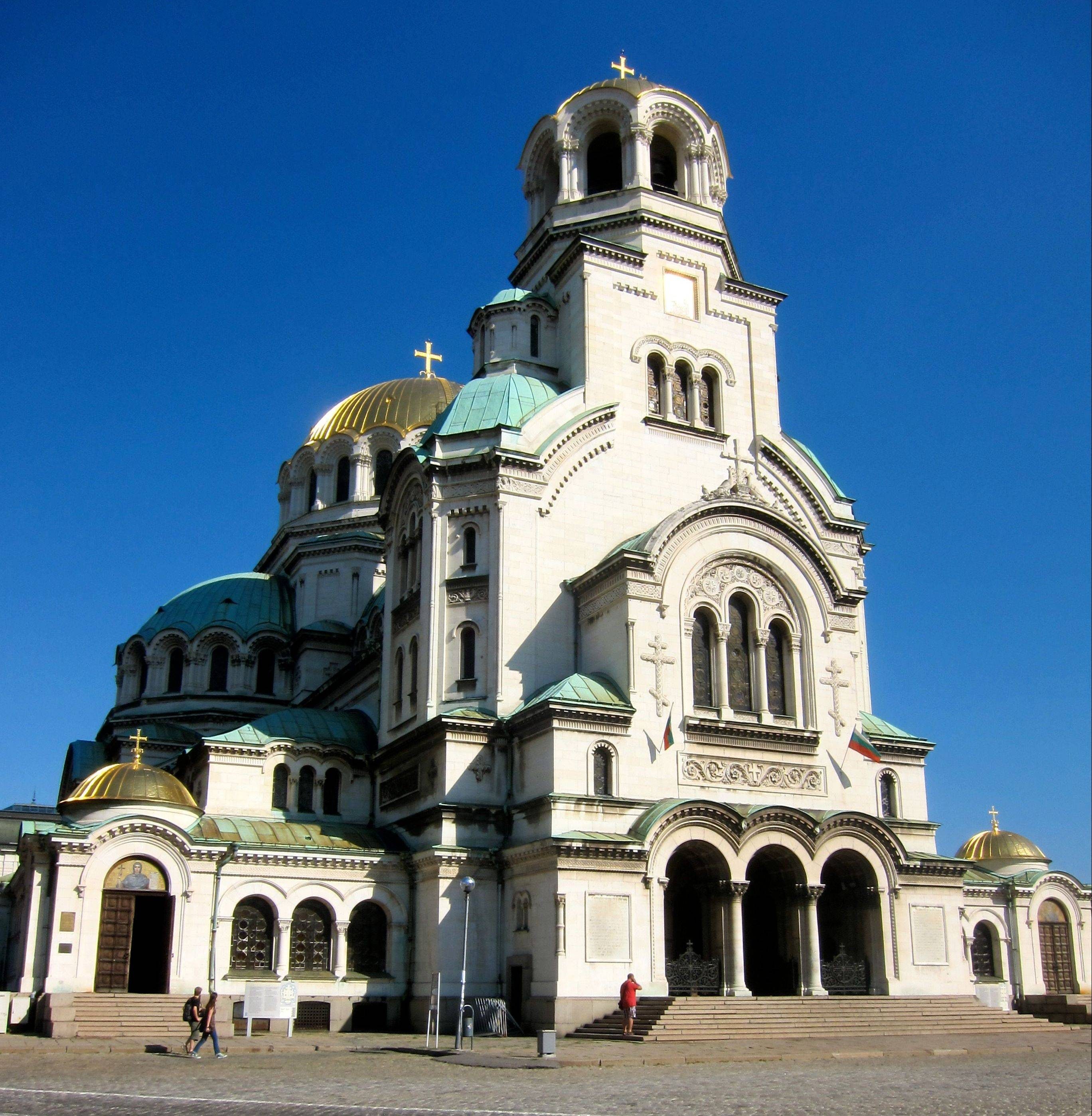 Alexander Nevsky Church in Sofia is one of the city's most recognizable landmarks.