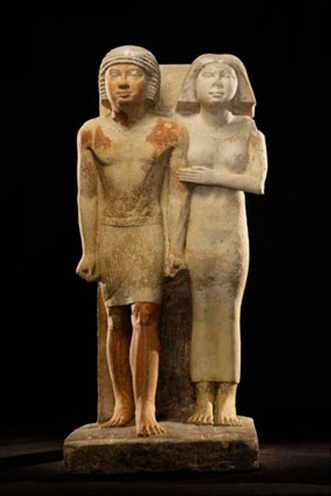 Associated Presss Recently discovered statues found in the Abusir region, south of Cairo, Egypt. Egyptian Minister of Antiquities, Mohammed Ibrahim said Czech archaeologists have unearthed the tomb of Shert Nebti�s, a pharaonic princess, daughter of King Men Salbo, dating from around 2500 BC.
