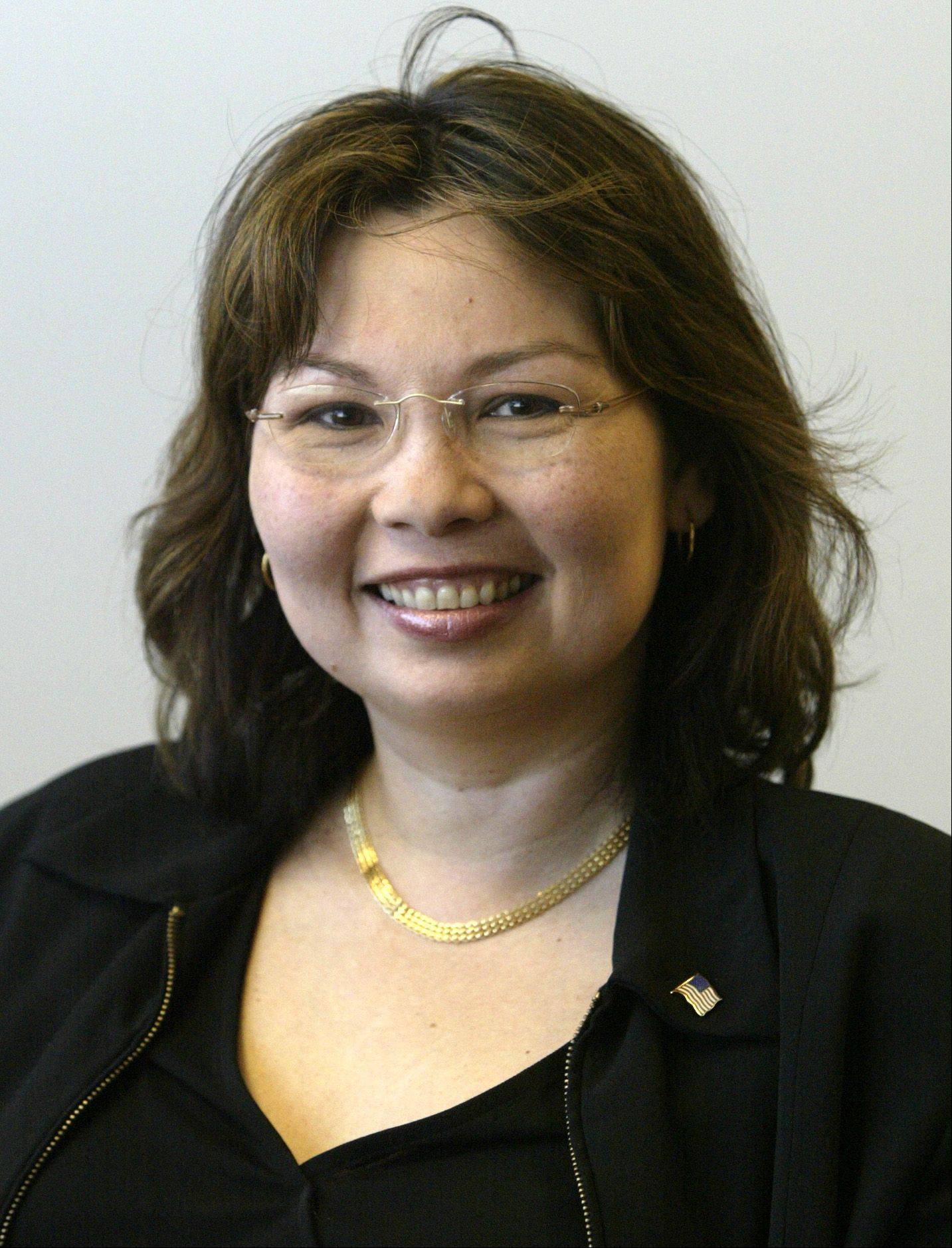 Tammy Duckworth, Democrat candidate for 8th District U.S. representative.