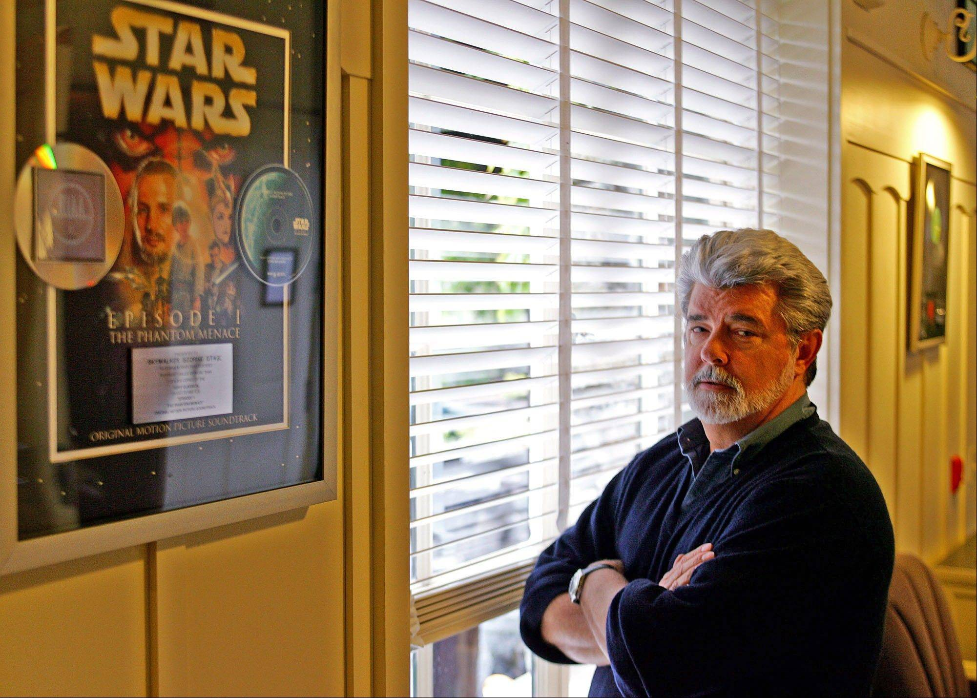 "George Lucas looks to move on from his ""Star Wars"" legacy to pursue other ""personal films."""