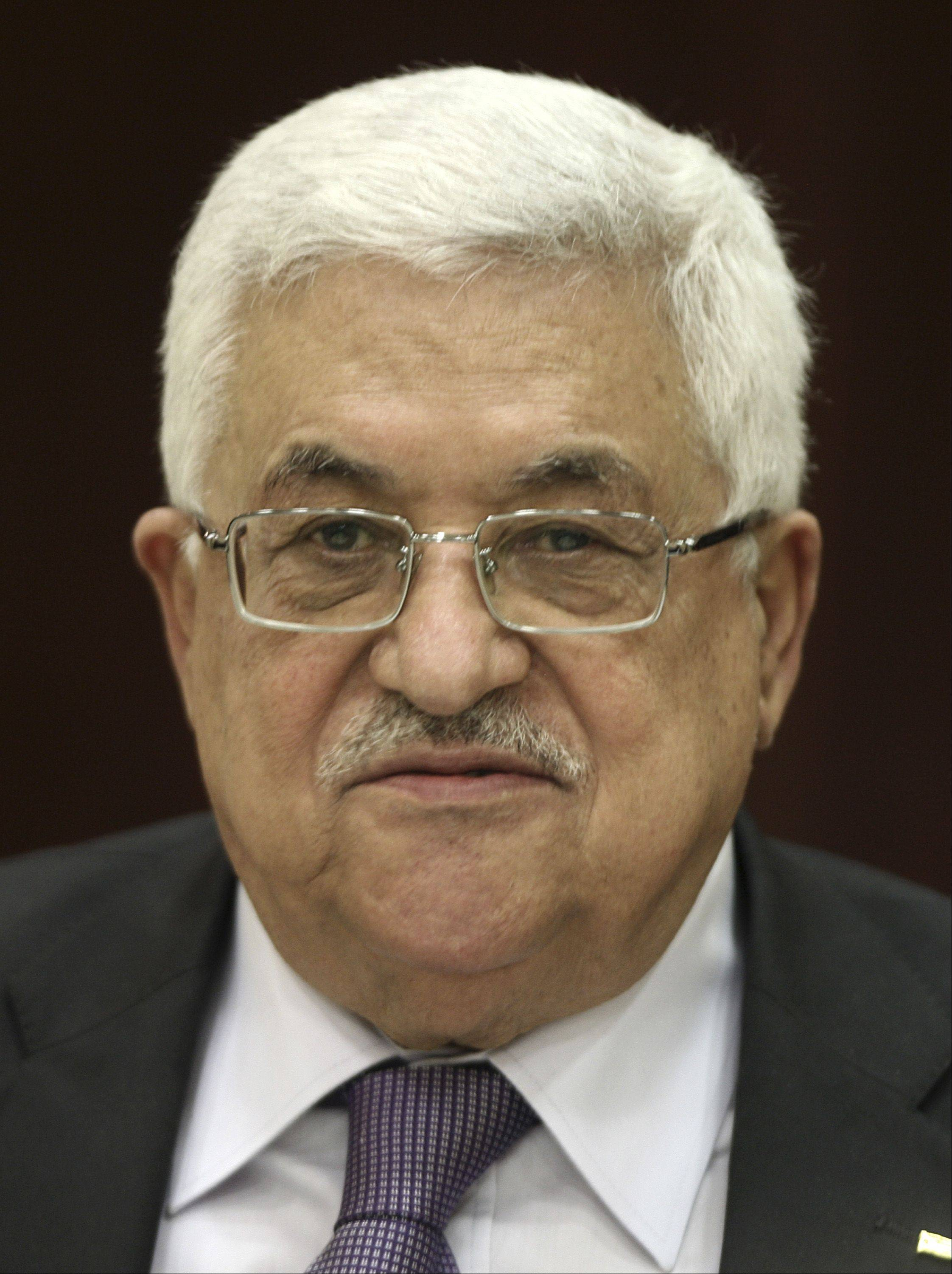 Palestinian President Mahmoud Abbas has publicly suggesting his people would have to relinquish claims to ancestral homes in Israel.