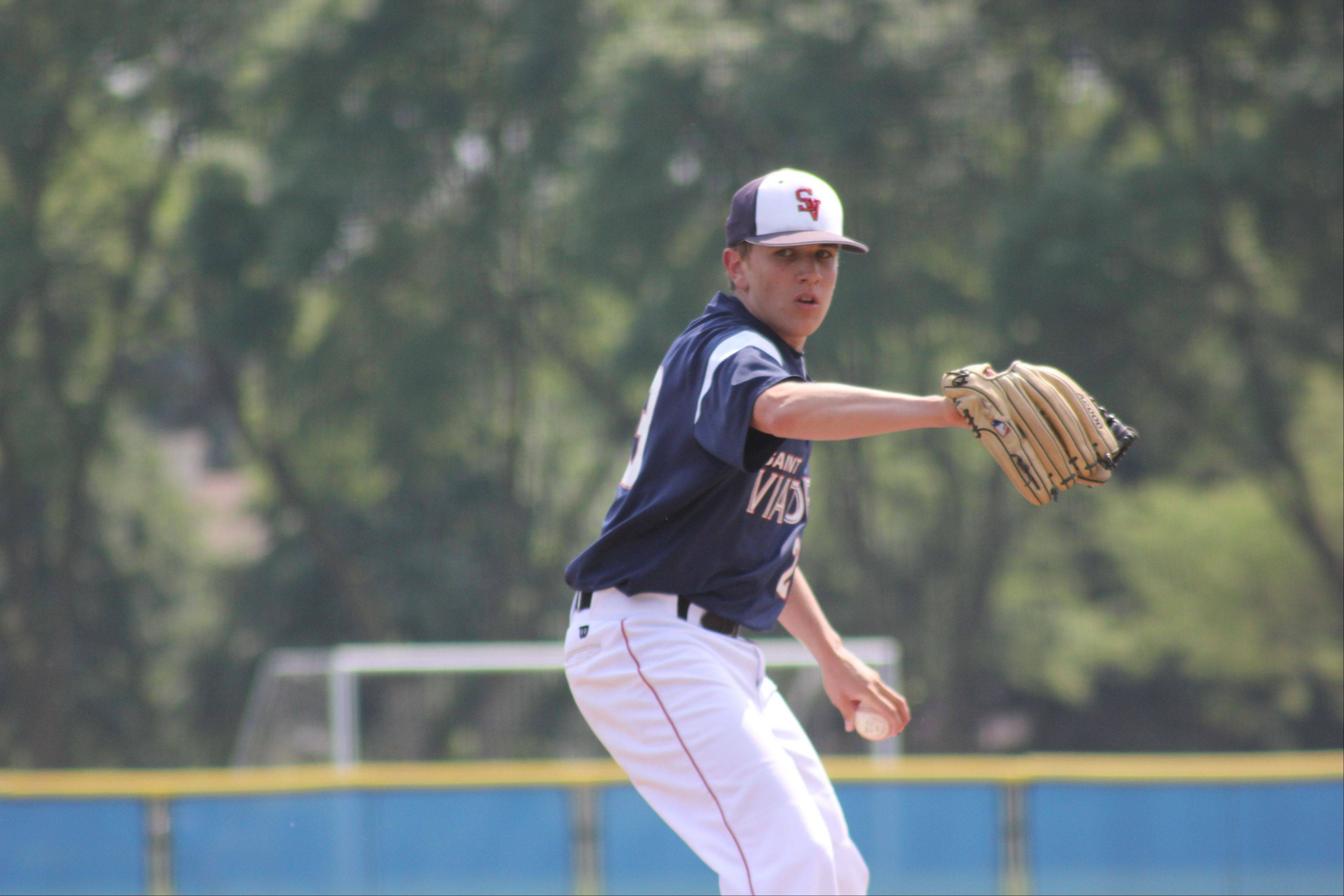 Hard work has led former St. Viator left-hander Bobby Napoleon to an opportunity to play baseball at Butler University.