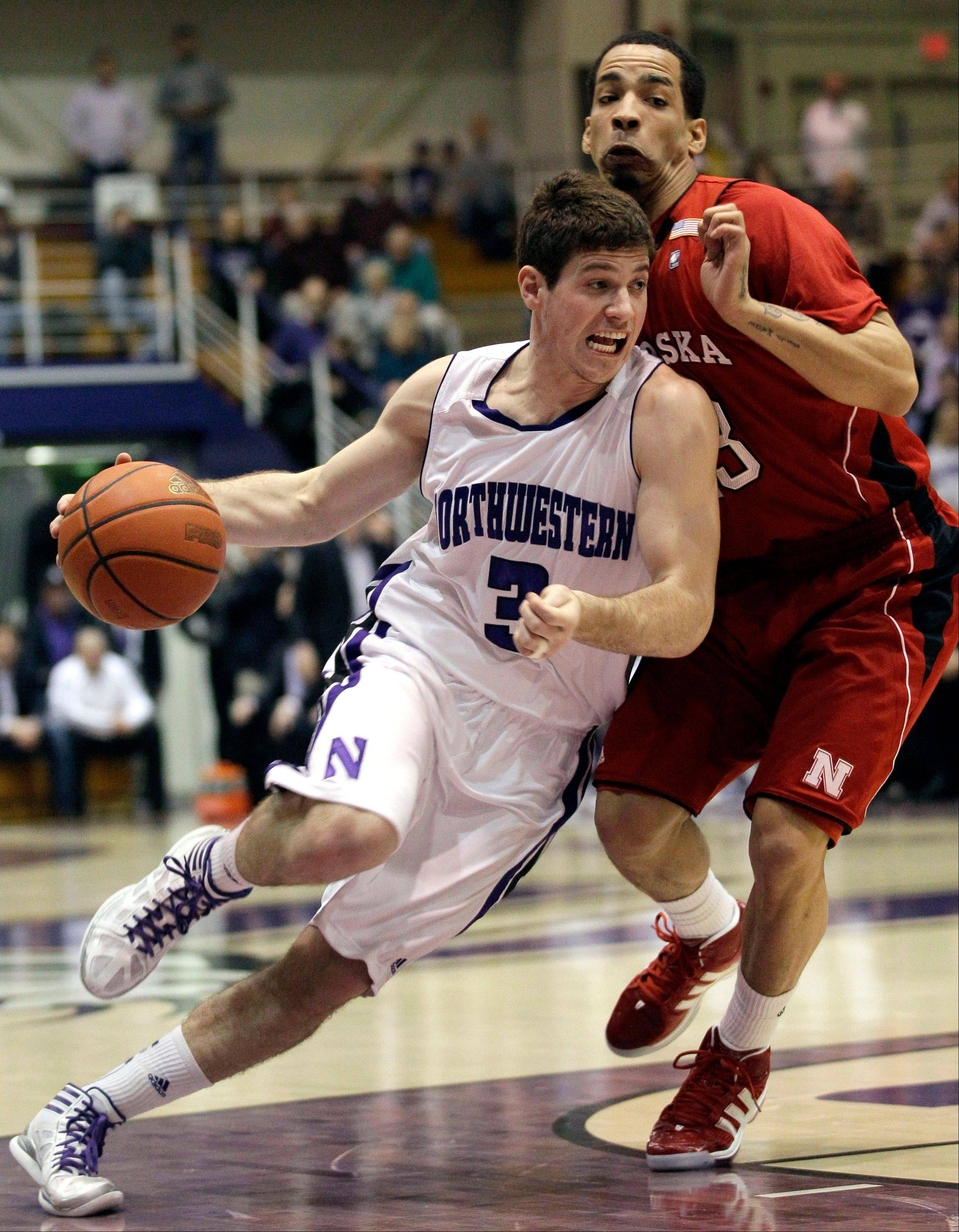 Northwestern point guard Dave Sobolewski said as a sophomore he feels much more comfortable directing the Wildcats' offense.