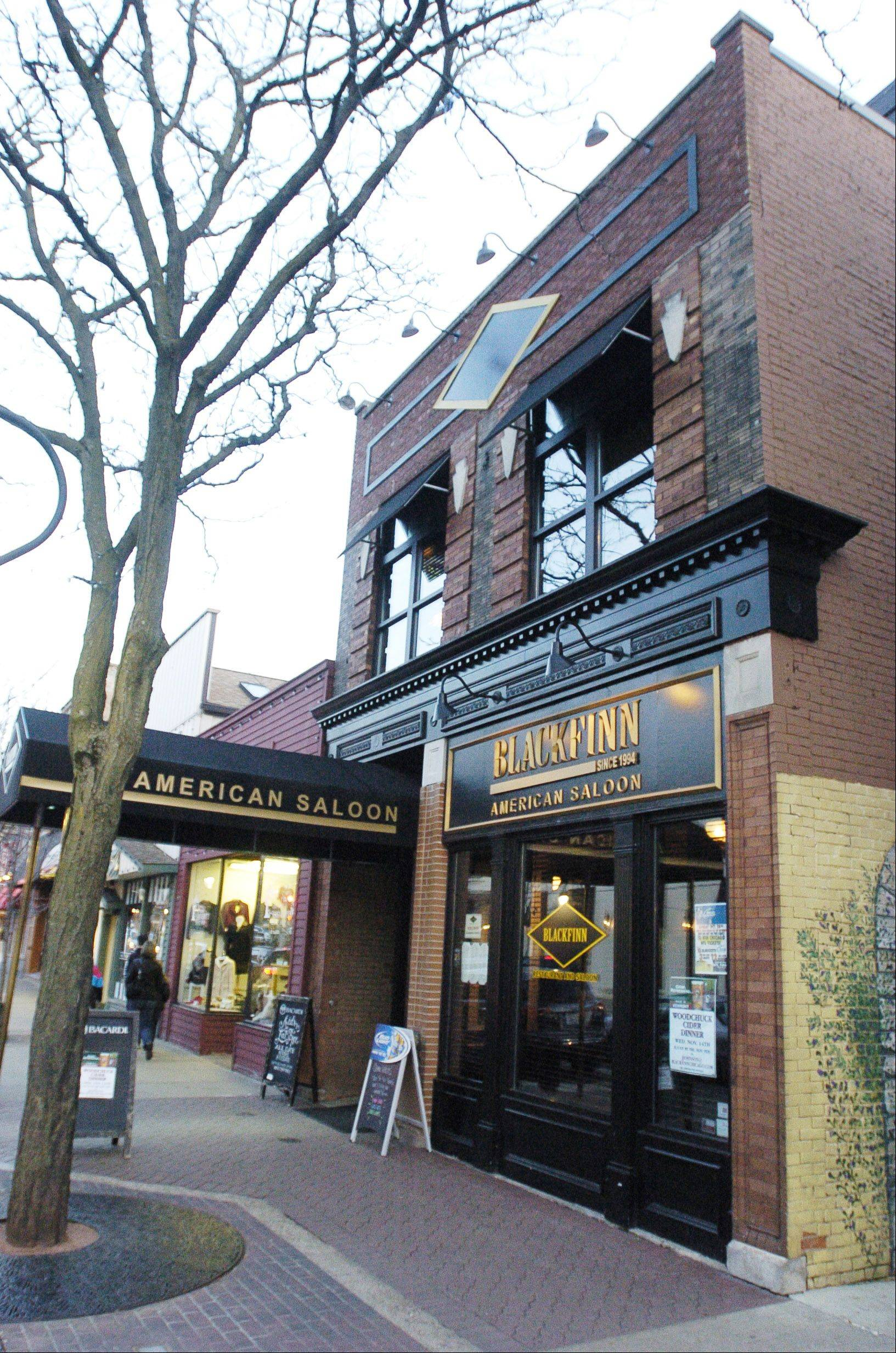 Black Finn American Saloon in Naperville has been the subject of complaints, according to Naperville officials. Police Chief Bob Marshall and city attorney Jill Wilger met with Black Finn's operations partner Lenny Skorcz to address concerns over fights and increasing police calls.