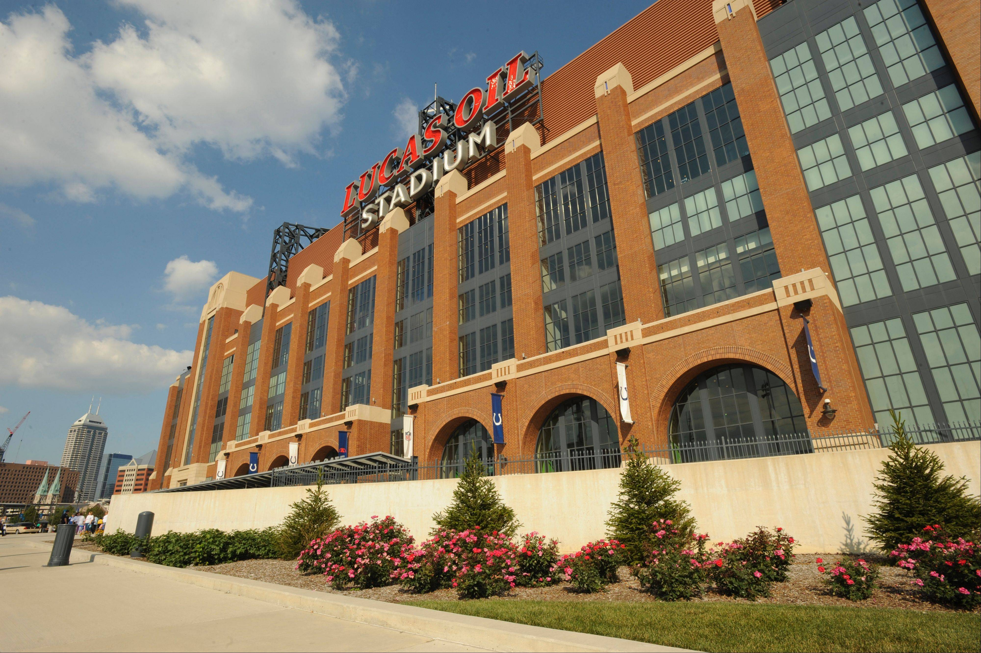 Associated Press Lucas Oil Stadium in Indianapolis is one of the more expensive public stadium deals in the country, according to a new book that looks at the public share of costs associated with stadium deals.