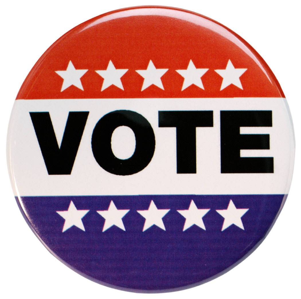 The polls are open today from 6 a.m. to 7 p.m.